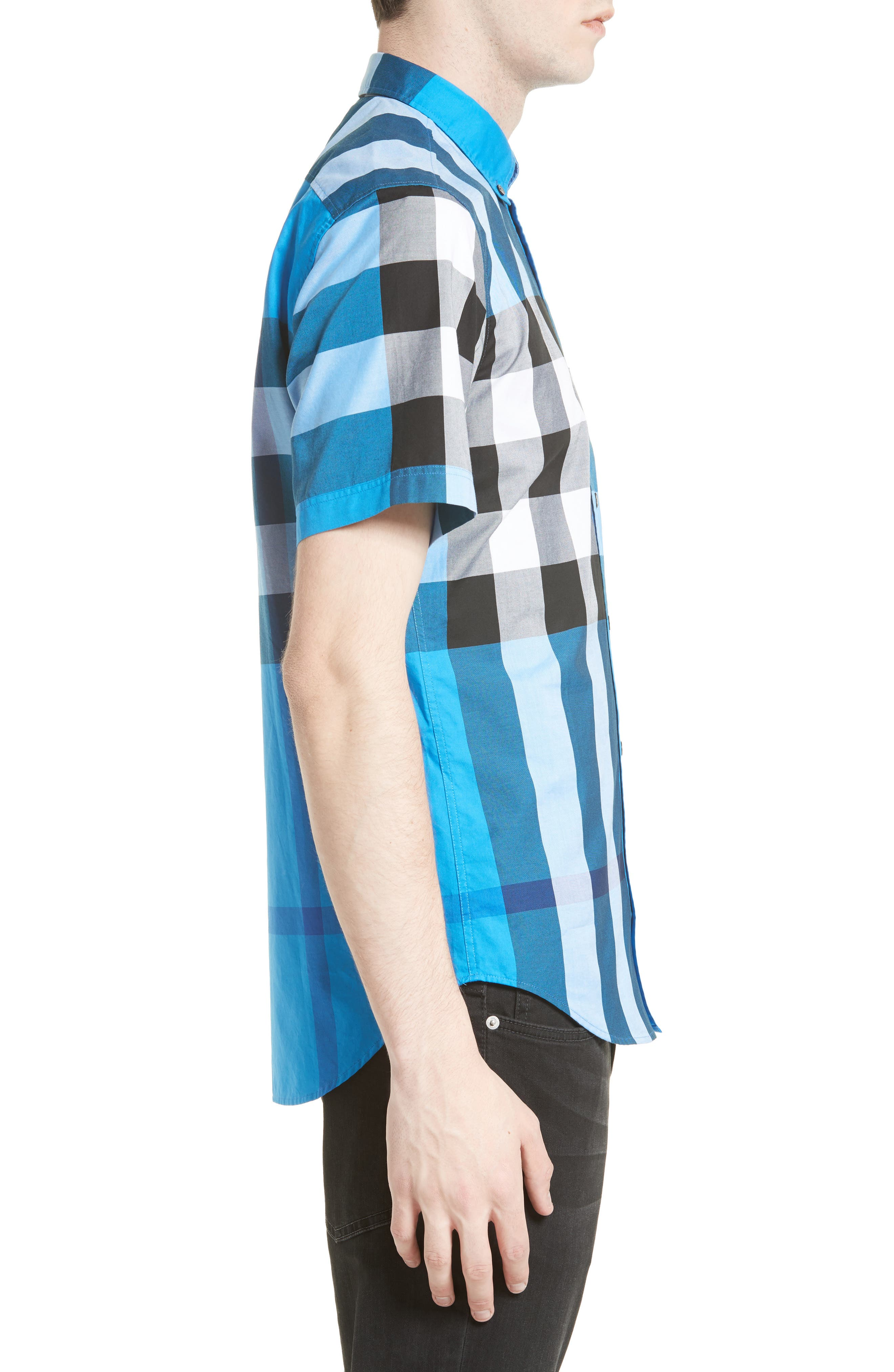 Alternate Image 3  - Burberry Fred Check Sport Shirt