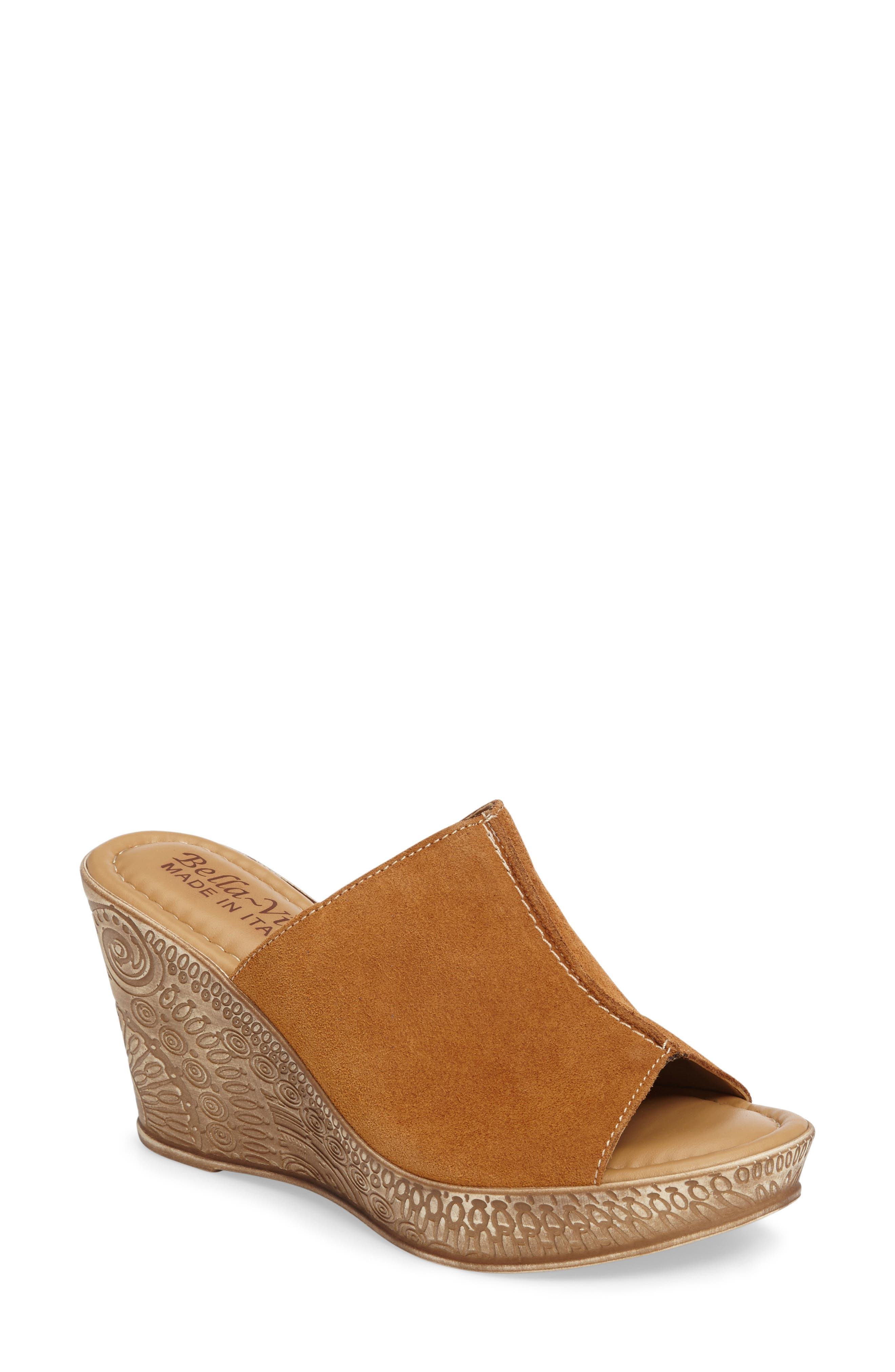 BELLA VITA Wedge Slide Sandal