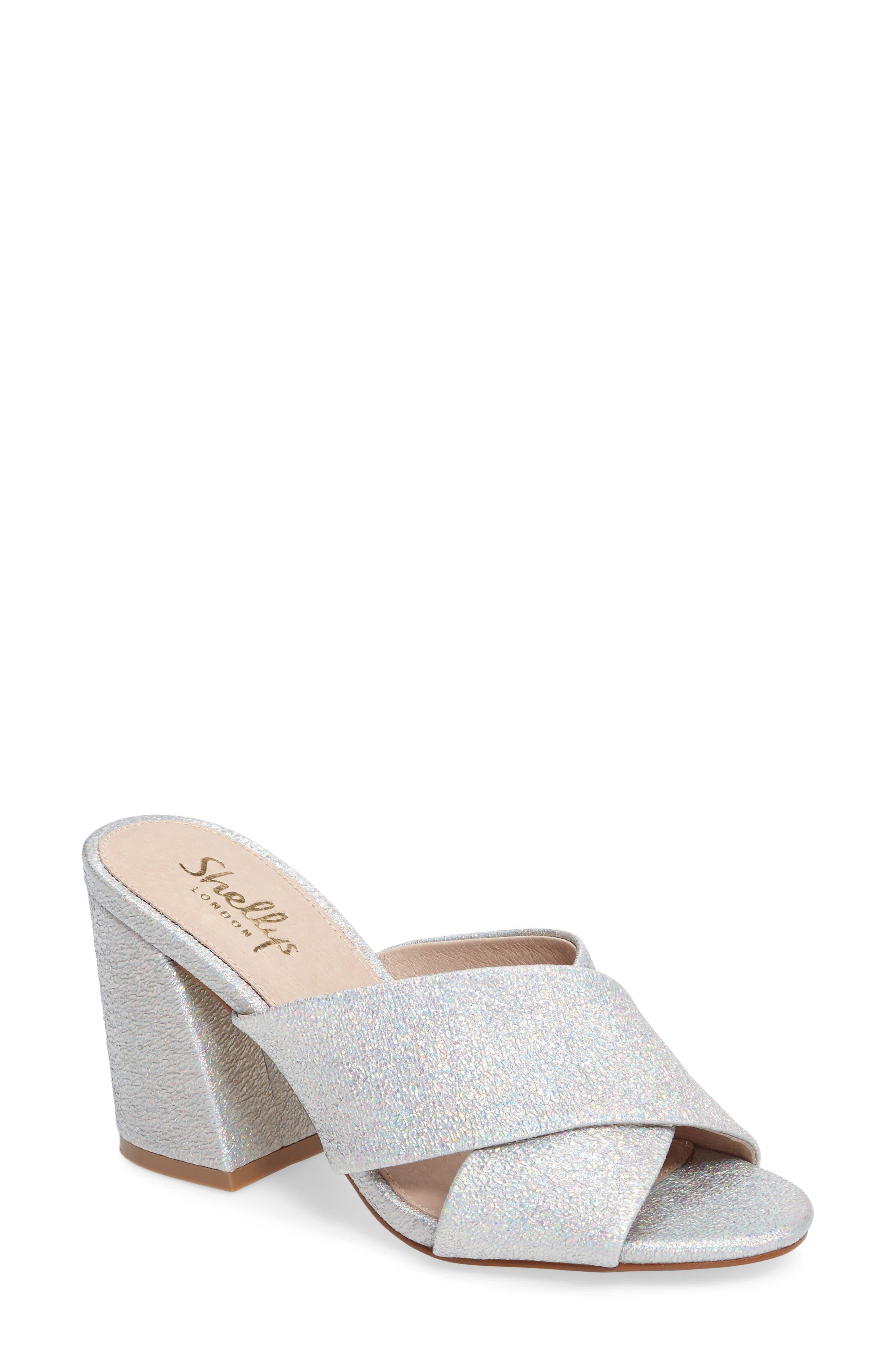Shellys London Dani Block Heel Sandal (Women)