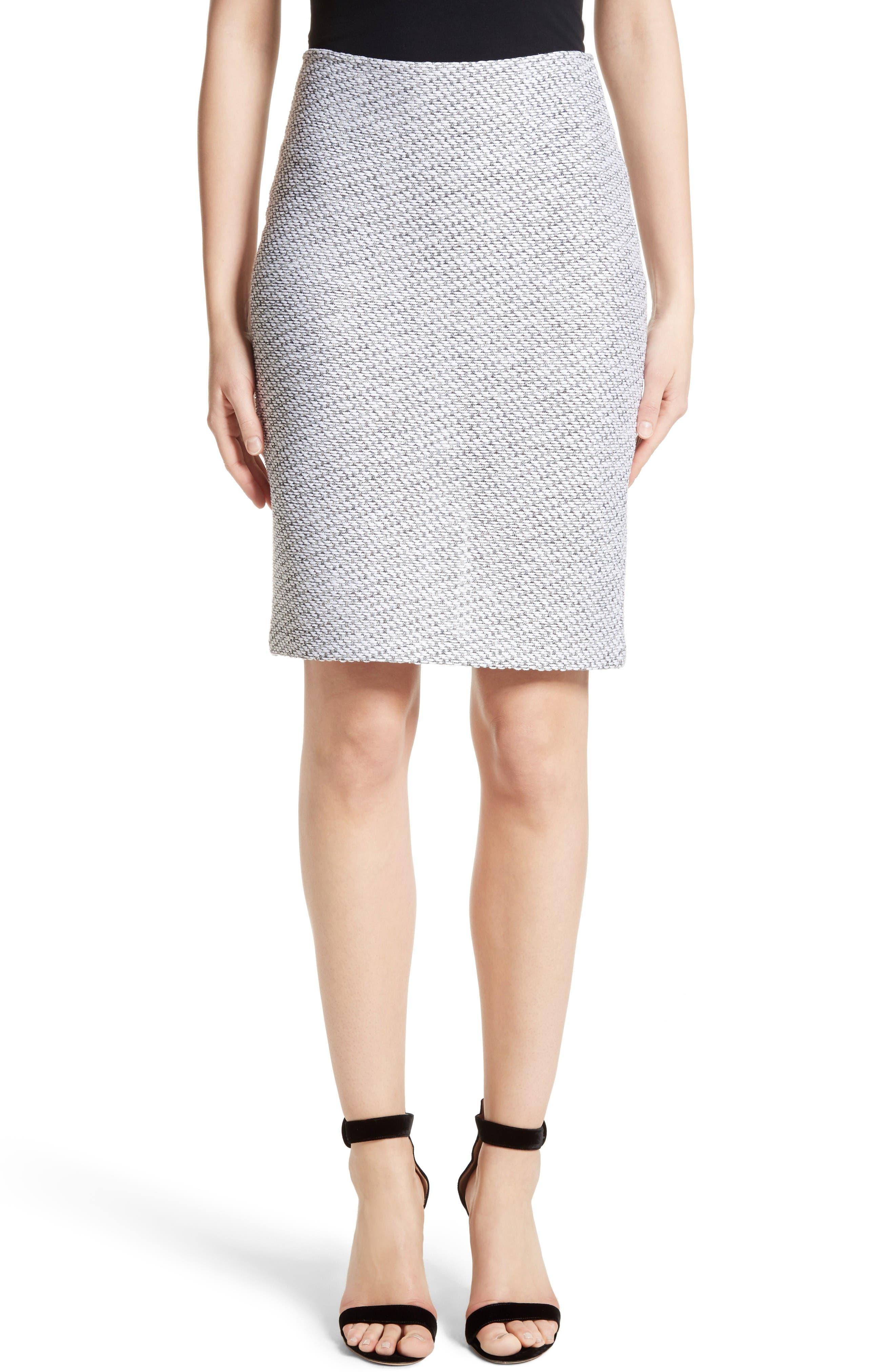 St. John Collection Gyan Knit Pencil Skirt