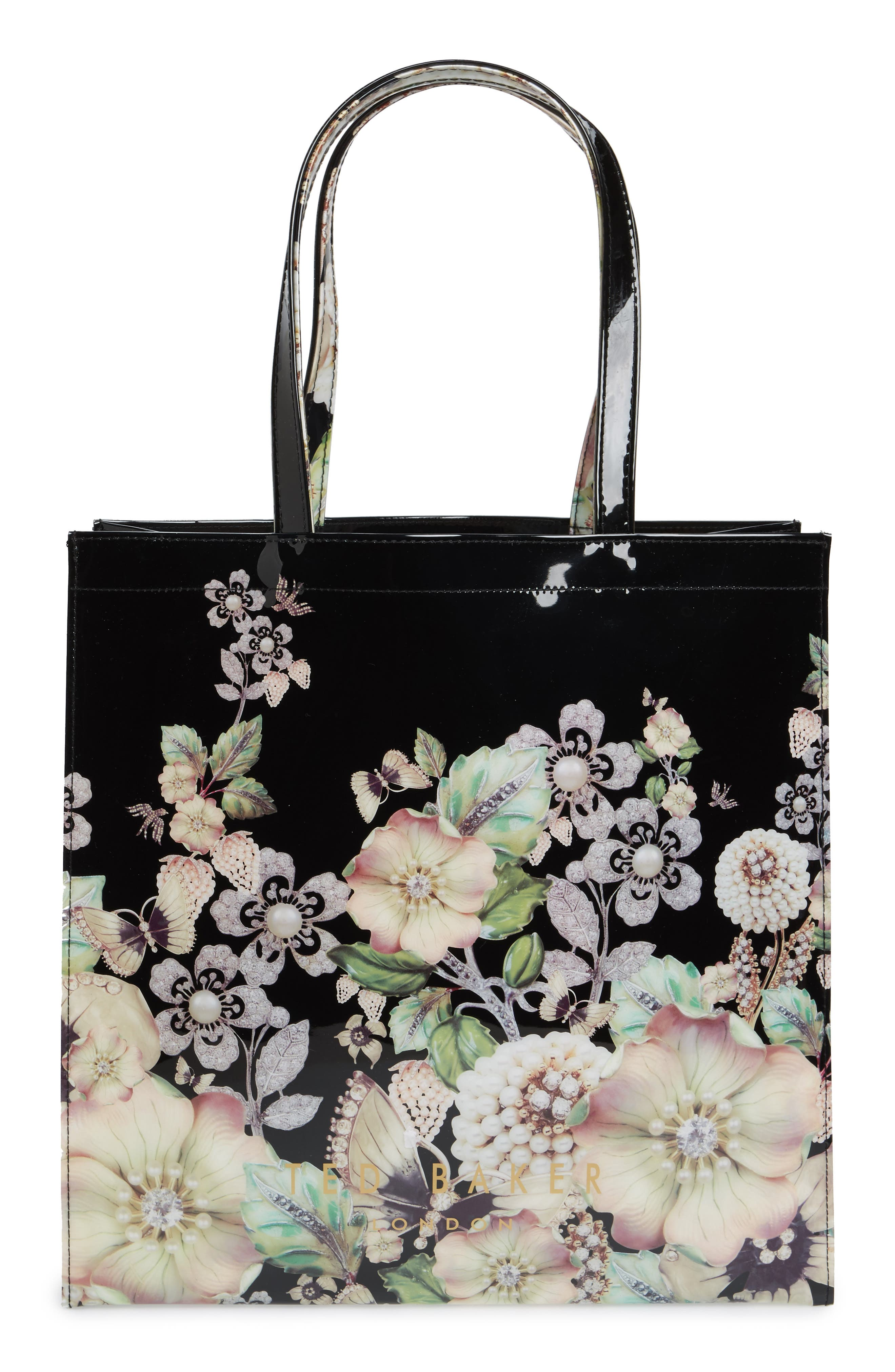 Main Image - Ted Baker London Gem Gardens Large Icon Tote