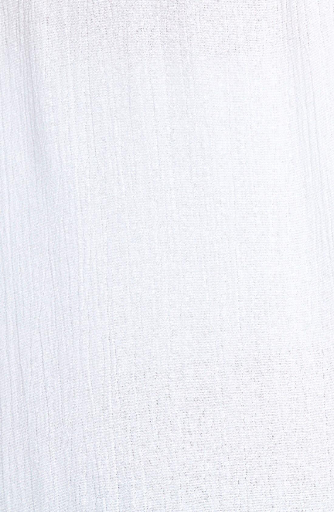 Alternate Image 3  - Sun & Shadow Battenberg Lace Trim Camisole (Juniors)