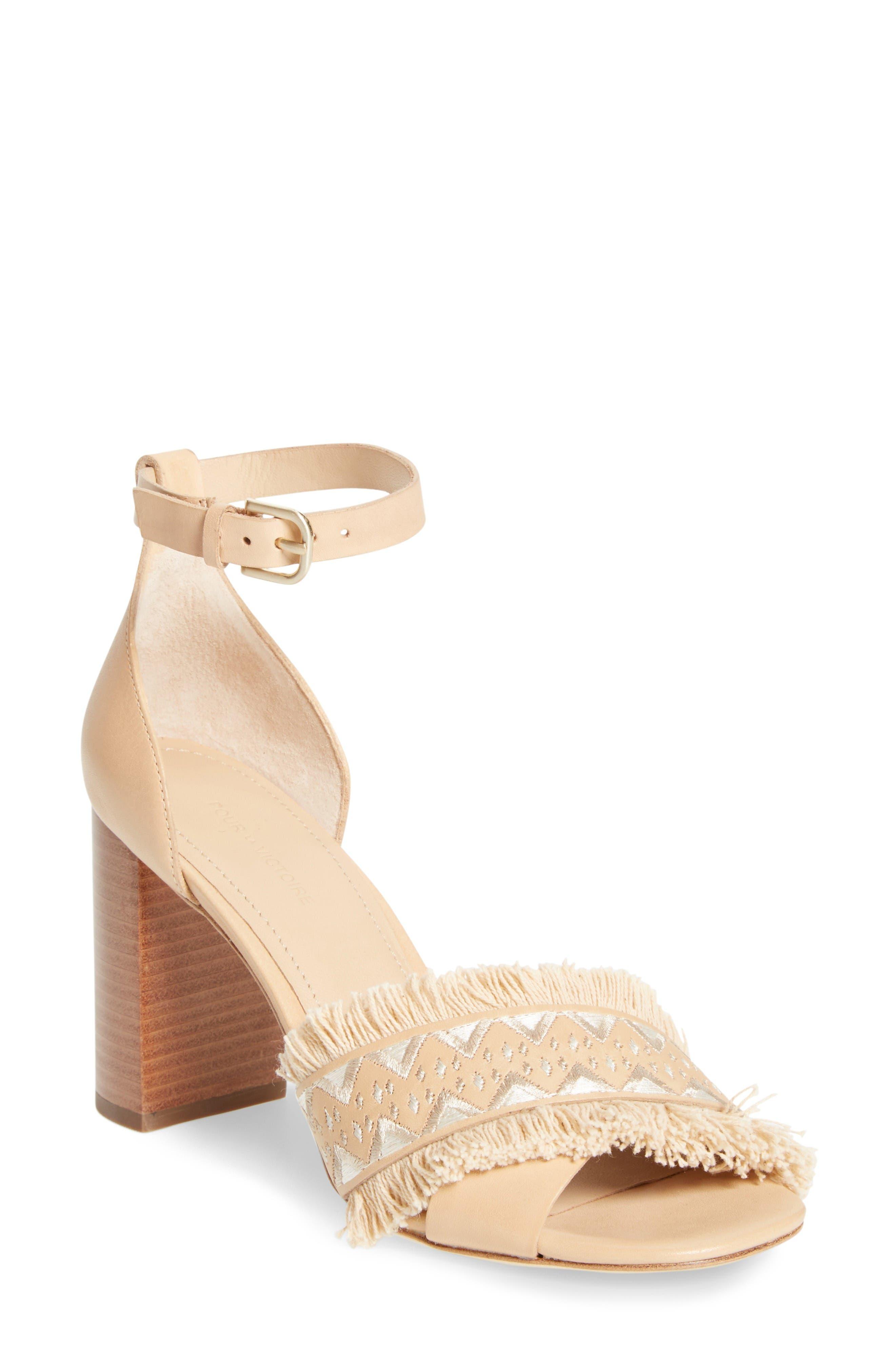 Pour la Victoire Havana Dress Sandal (Women)