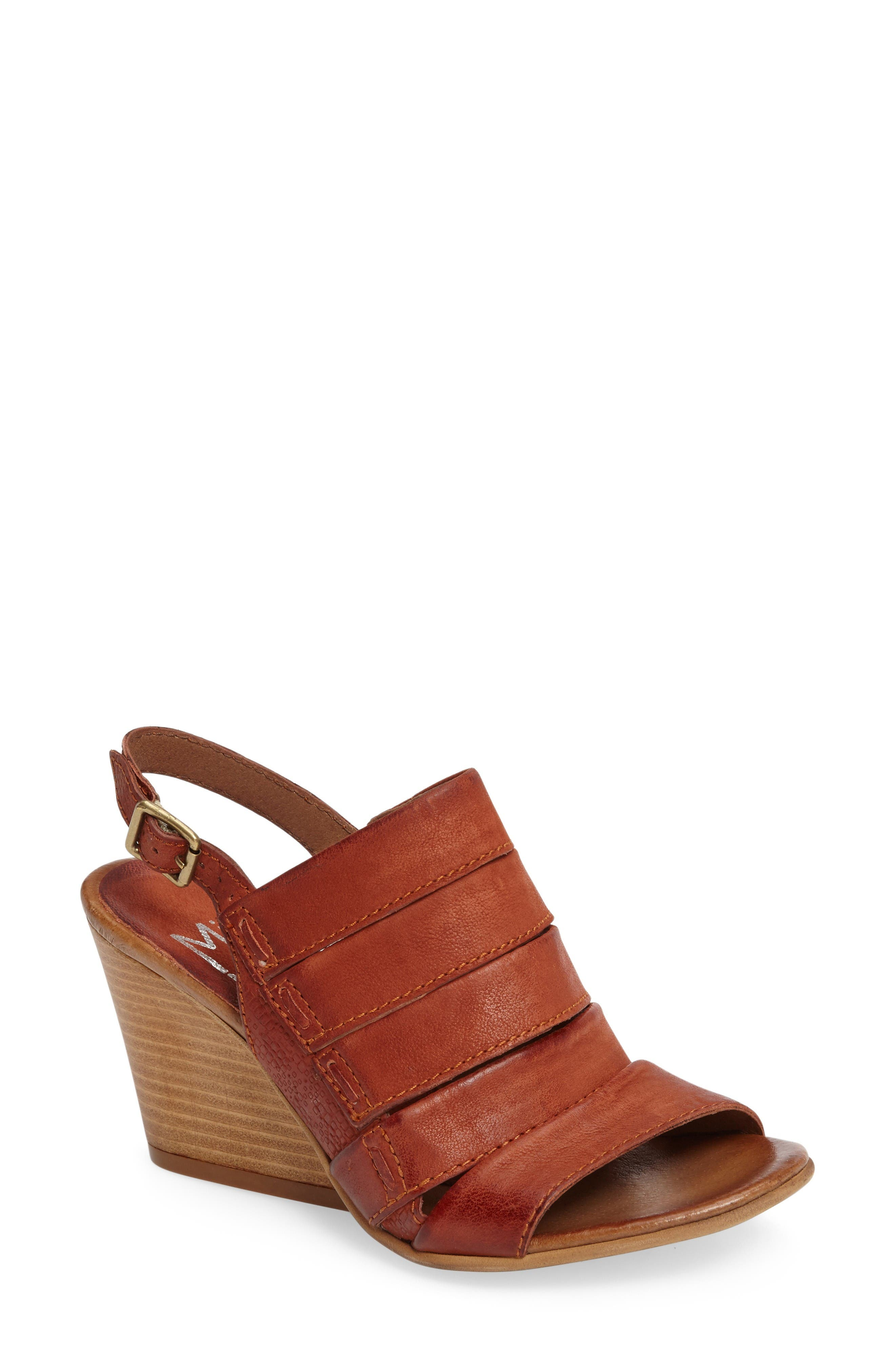 Alternate Image 1 Selected - Miz Mooz Kenmare Wedge Sandal (Women)