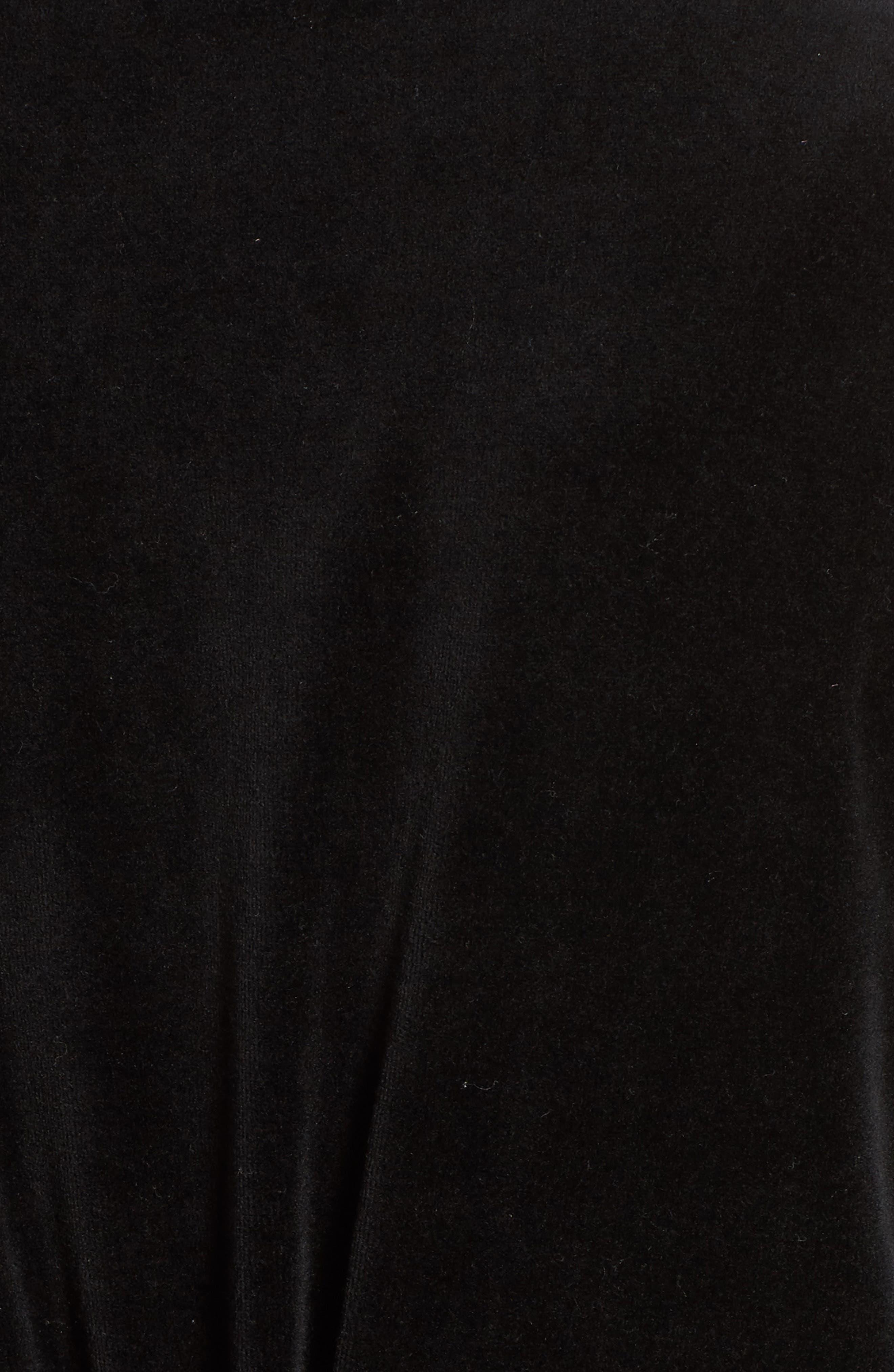Alternate Image 5  - Juicy Couture Longline Velour Hoodie