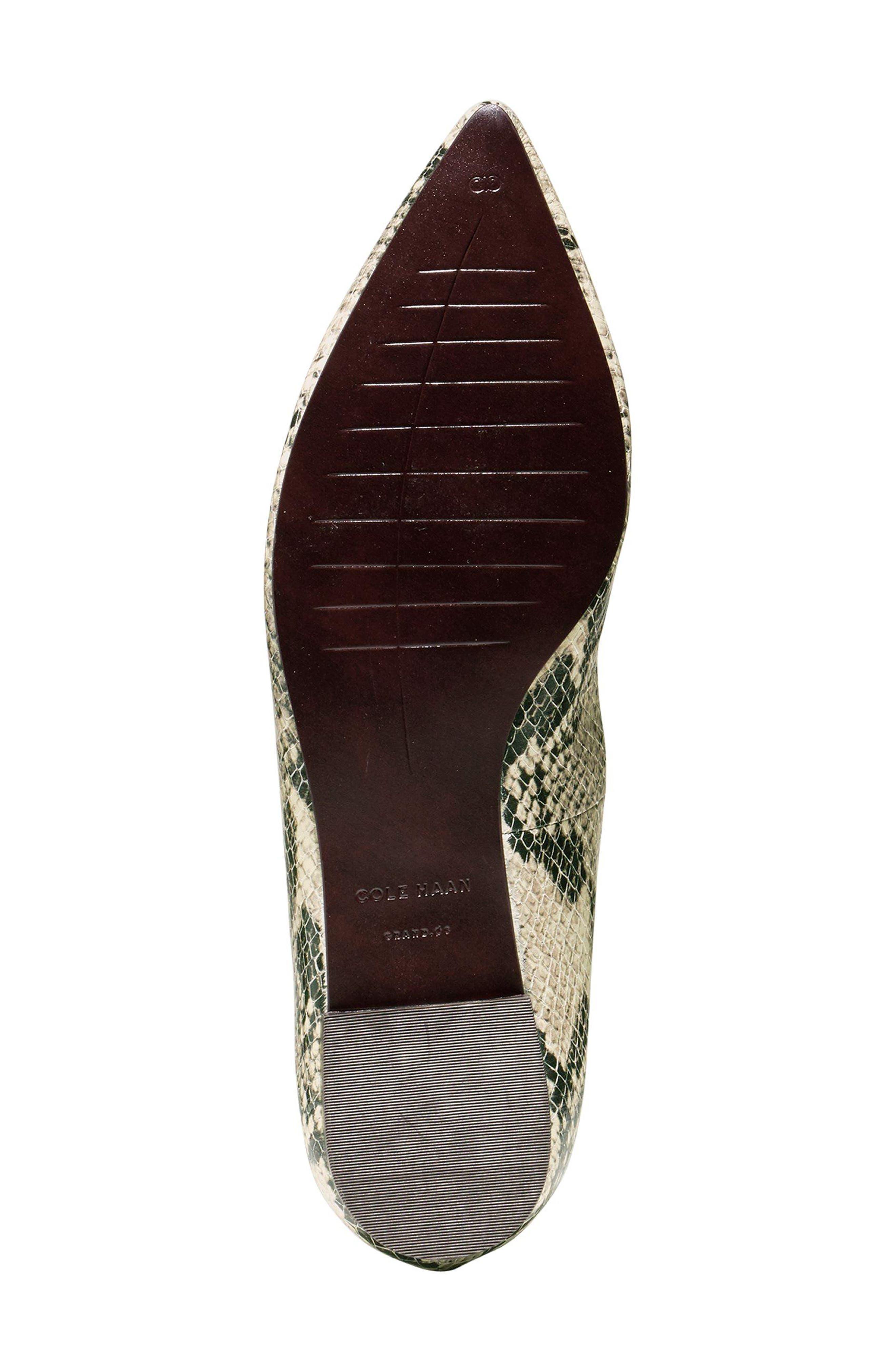 Alternate Image 4  - Cole Haan Millicent Ankle Strap Skimmer Flat (Women)