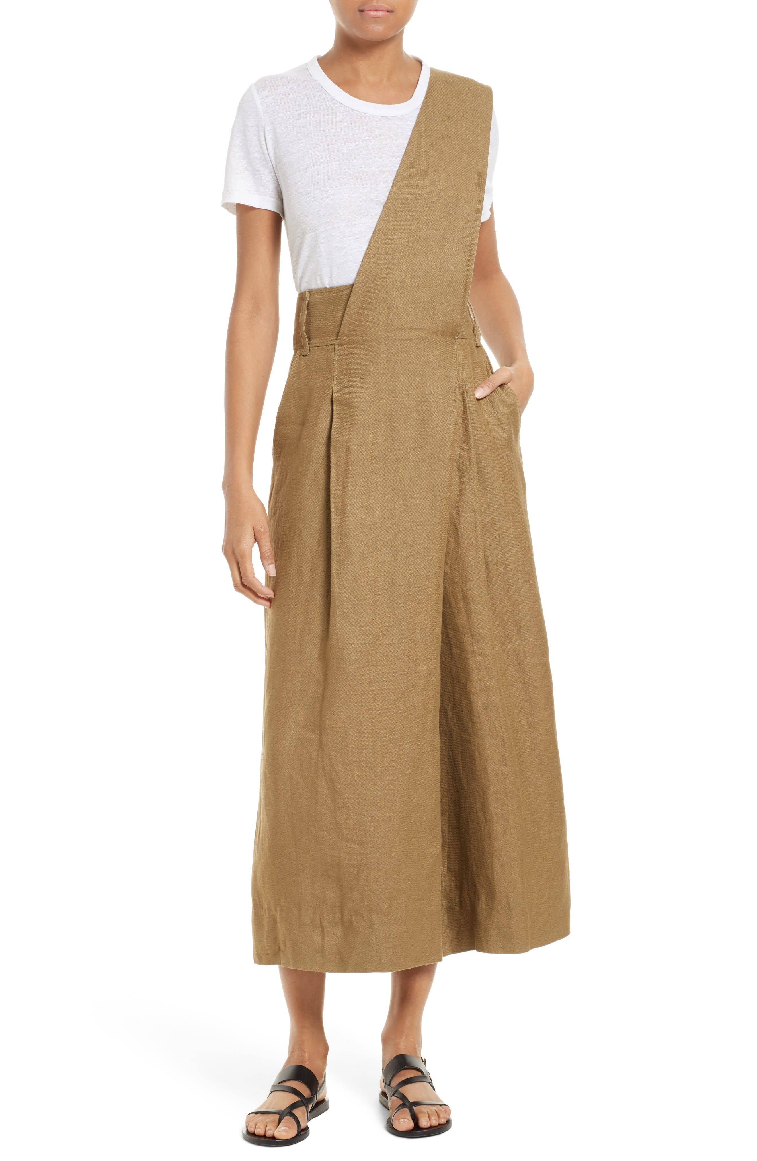 Alternate Image 1 Selected - Tibi Hessian Linen Jumpsuit