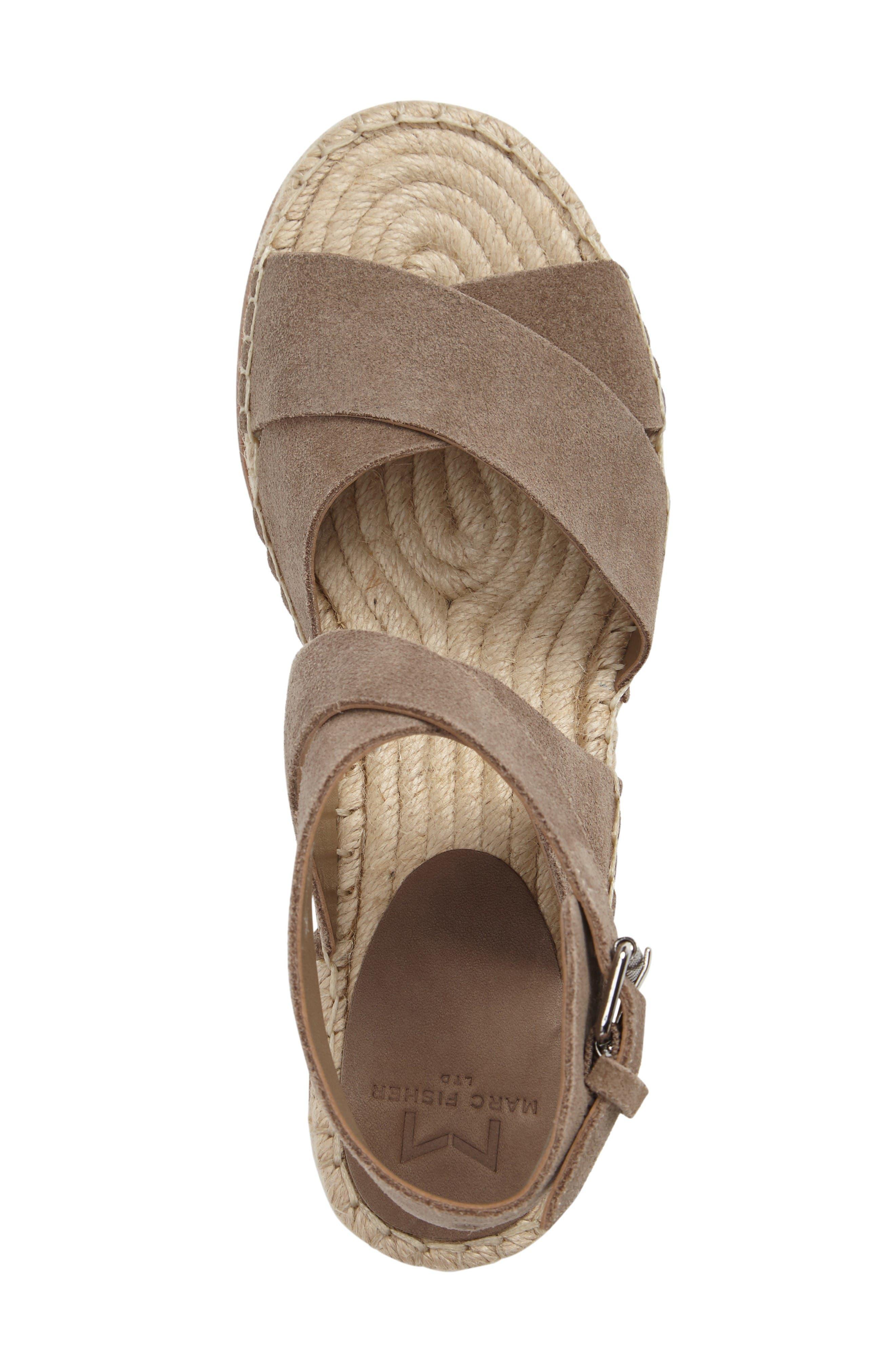 Alternate Image 3  - Marc Fisher LTD Greg Platform Wedge Sandal (Women)