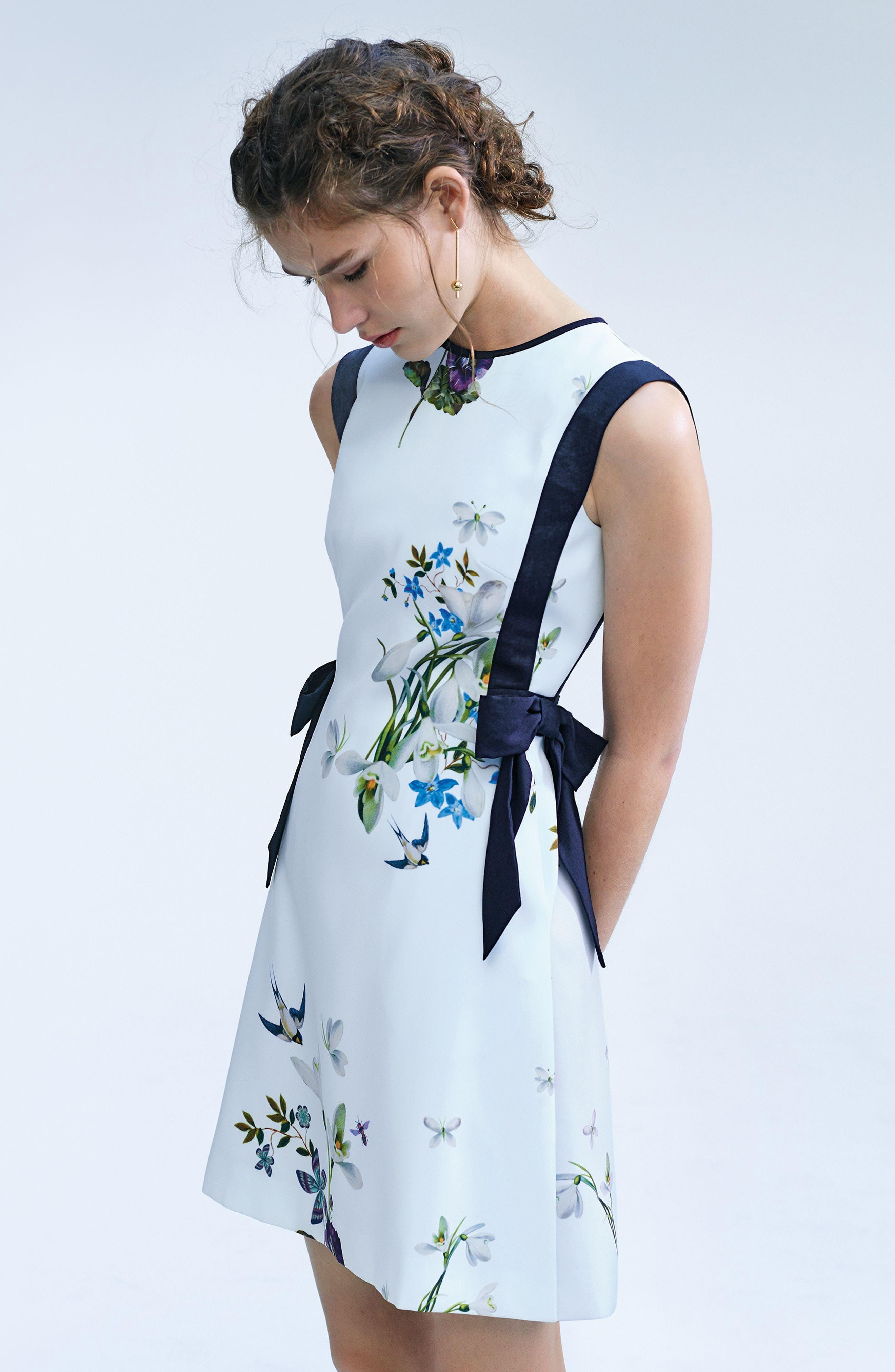 Alternate Image 2  - Ted Baker London Sipnela A-Line Dress