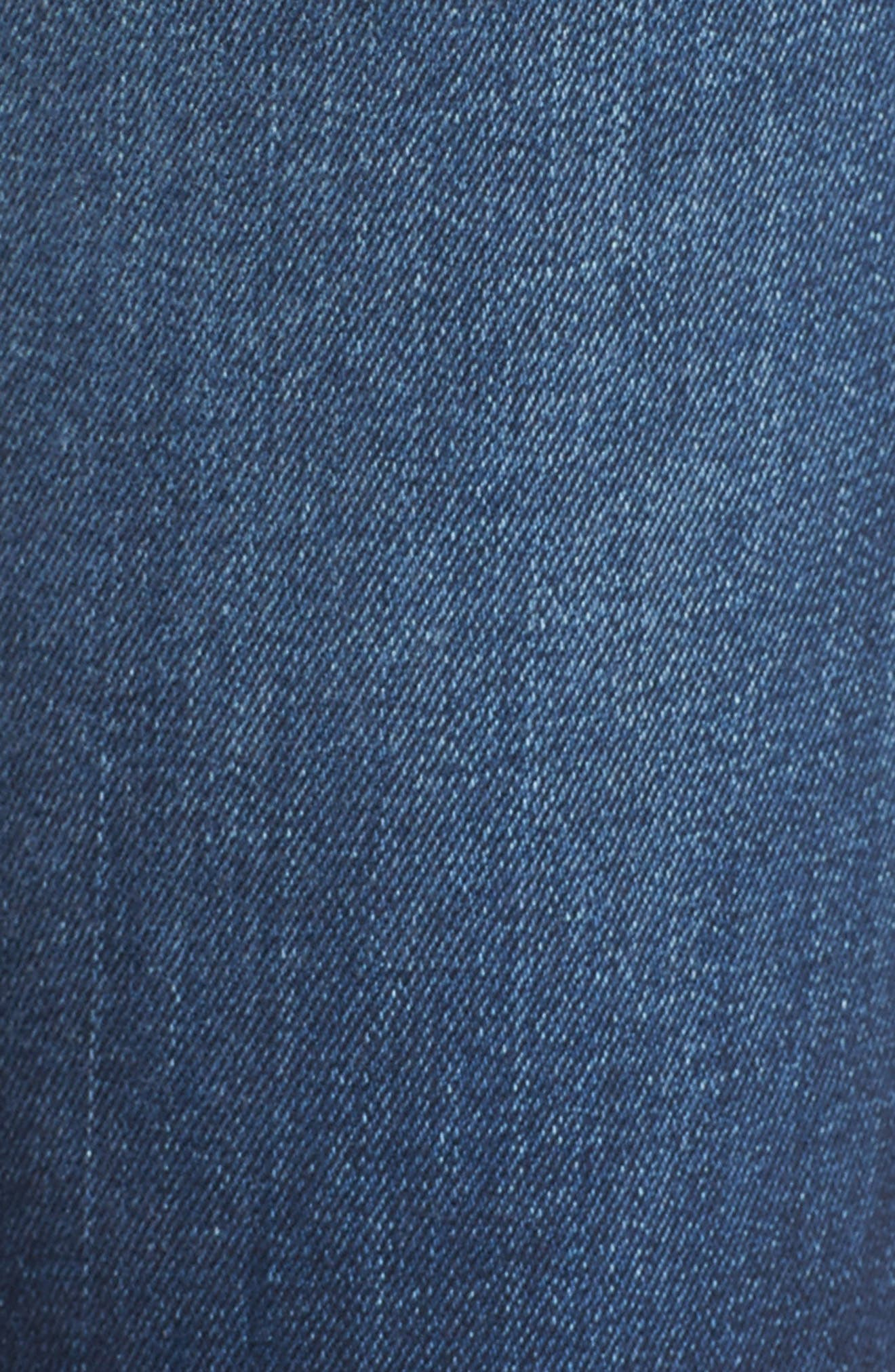 Alternate Image 5  - Hudson Jeans Collin Skinny Jeans (Pin Point)