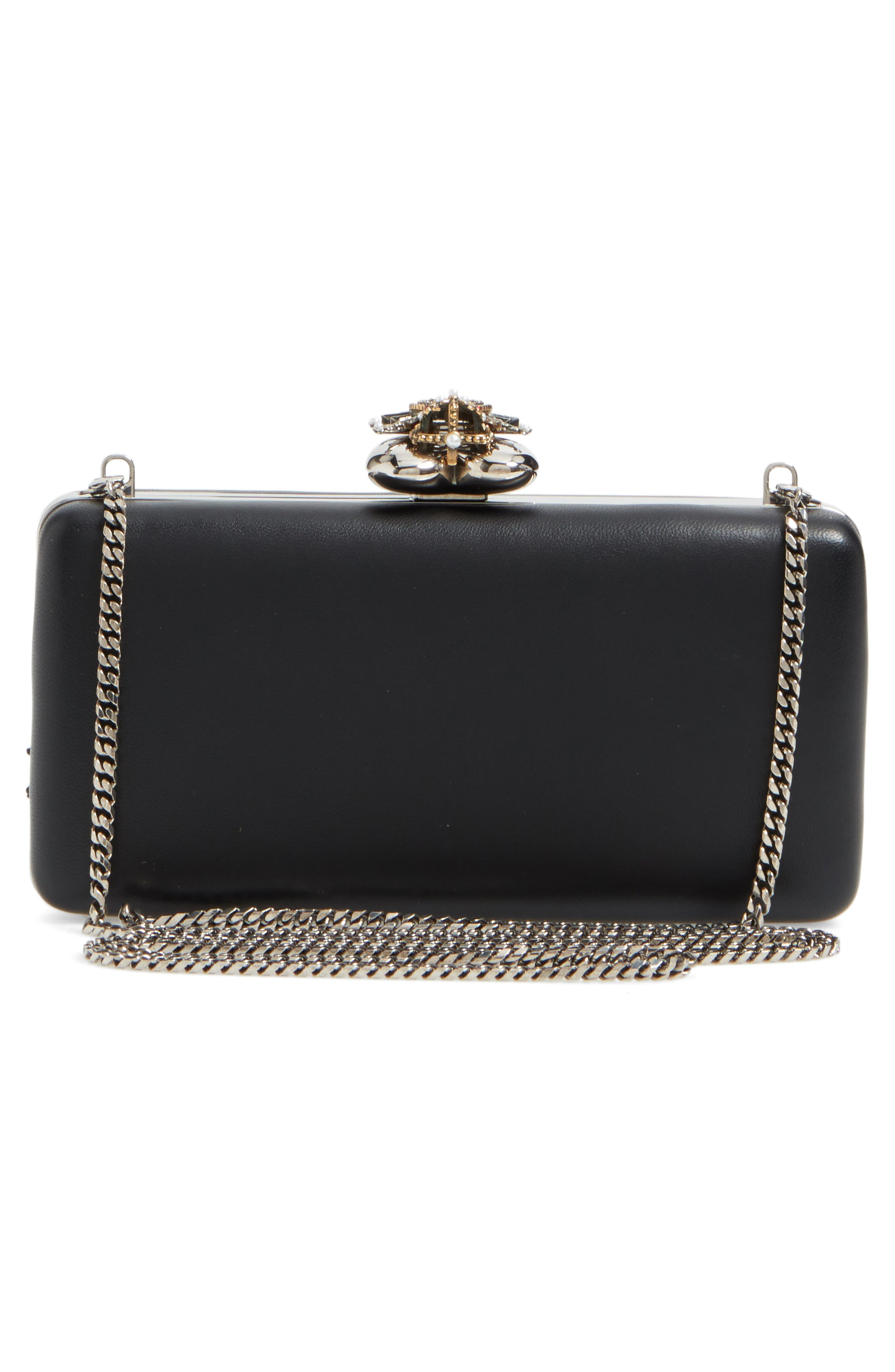 Alternate Image 3  - Alexander McQueen Embellished Nappa Leather Clutch