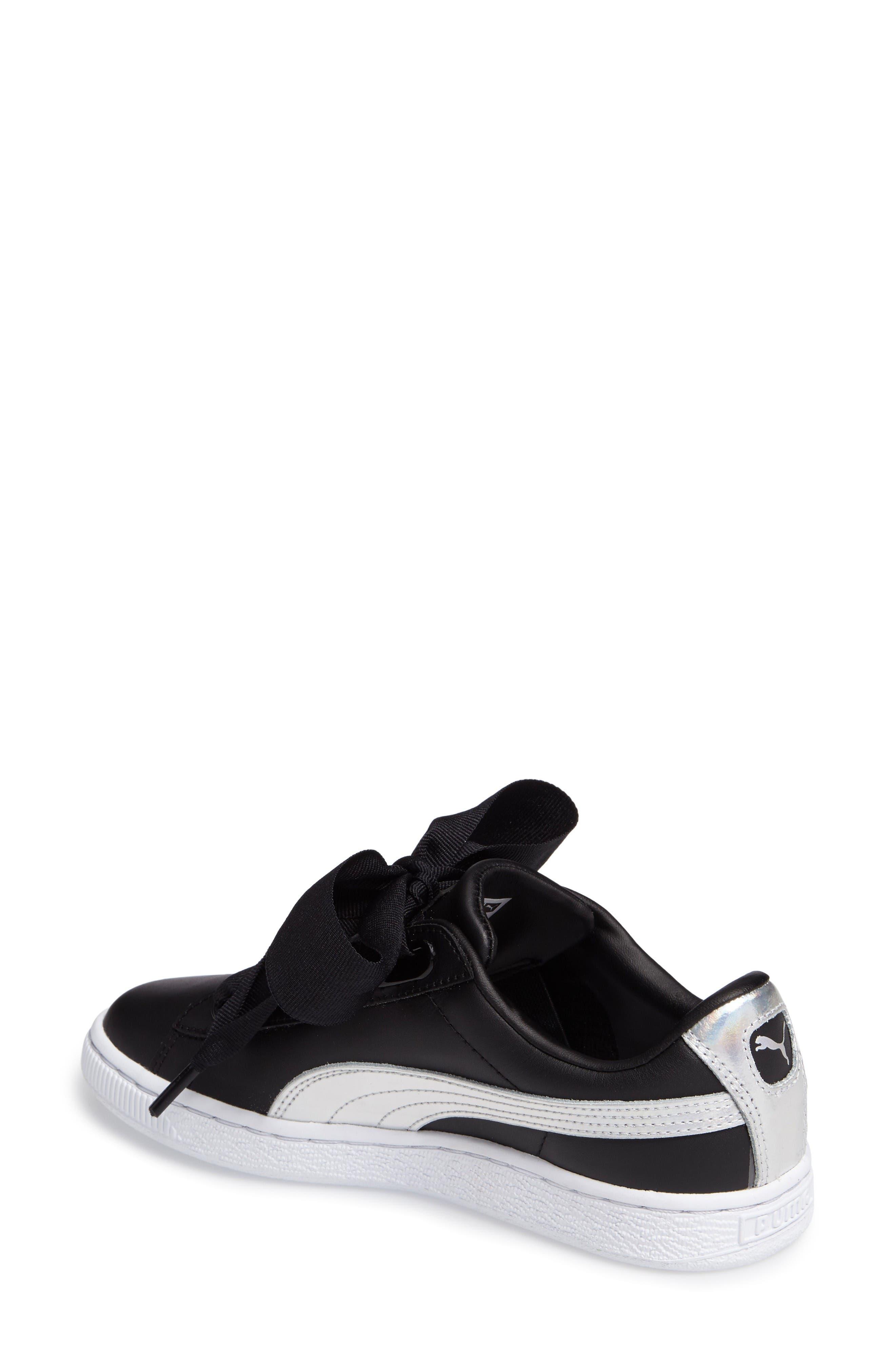 Alternate Image 2  - PUMA Basket Heart Sneaker
