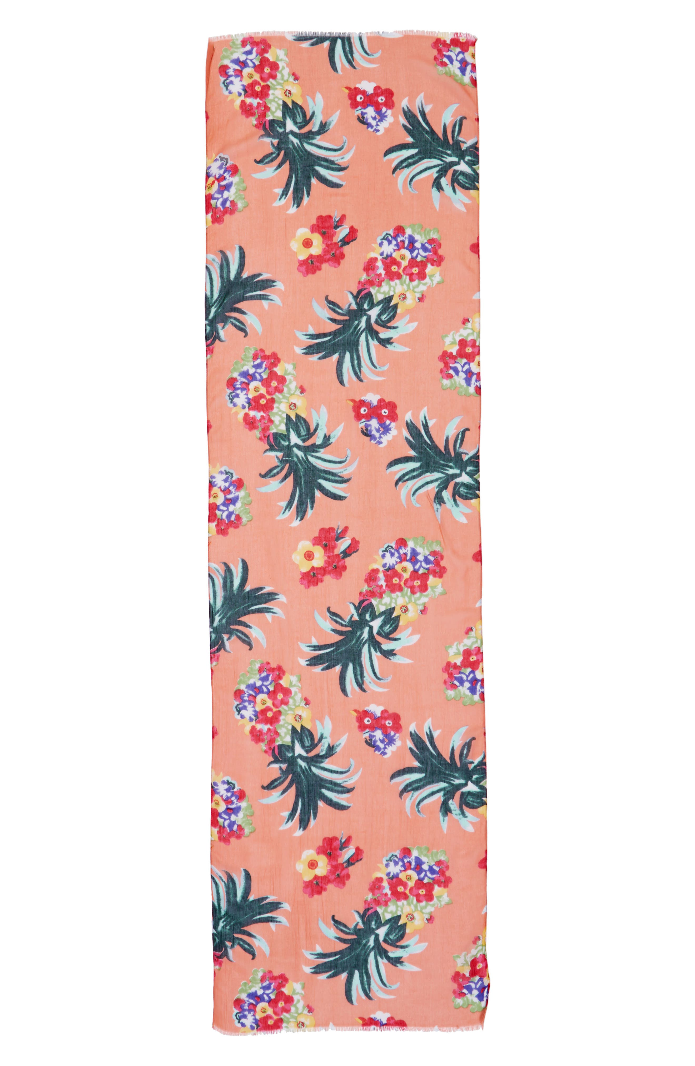 Alternate Image 3  - Sole Society Tropical Print Scarf