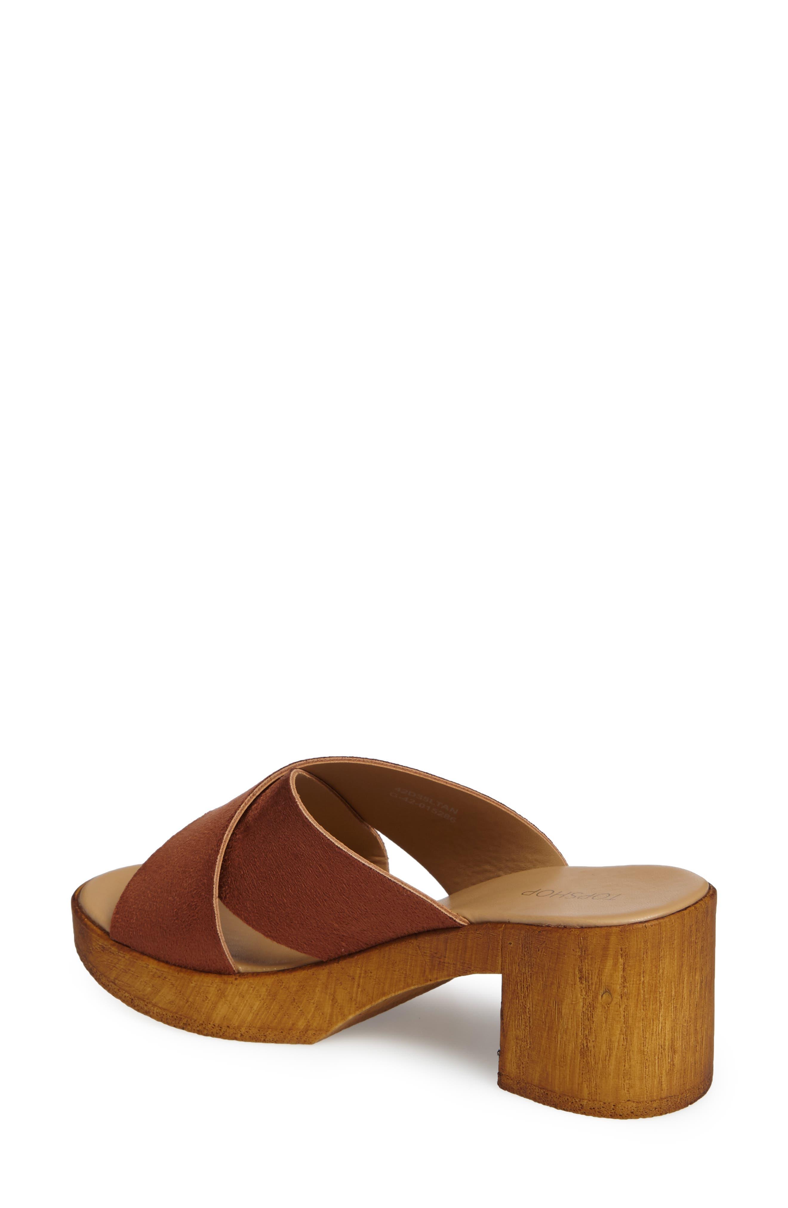 Alternate Image 2  - Topshop Dixy Clog Sandal (Women)