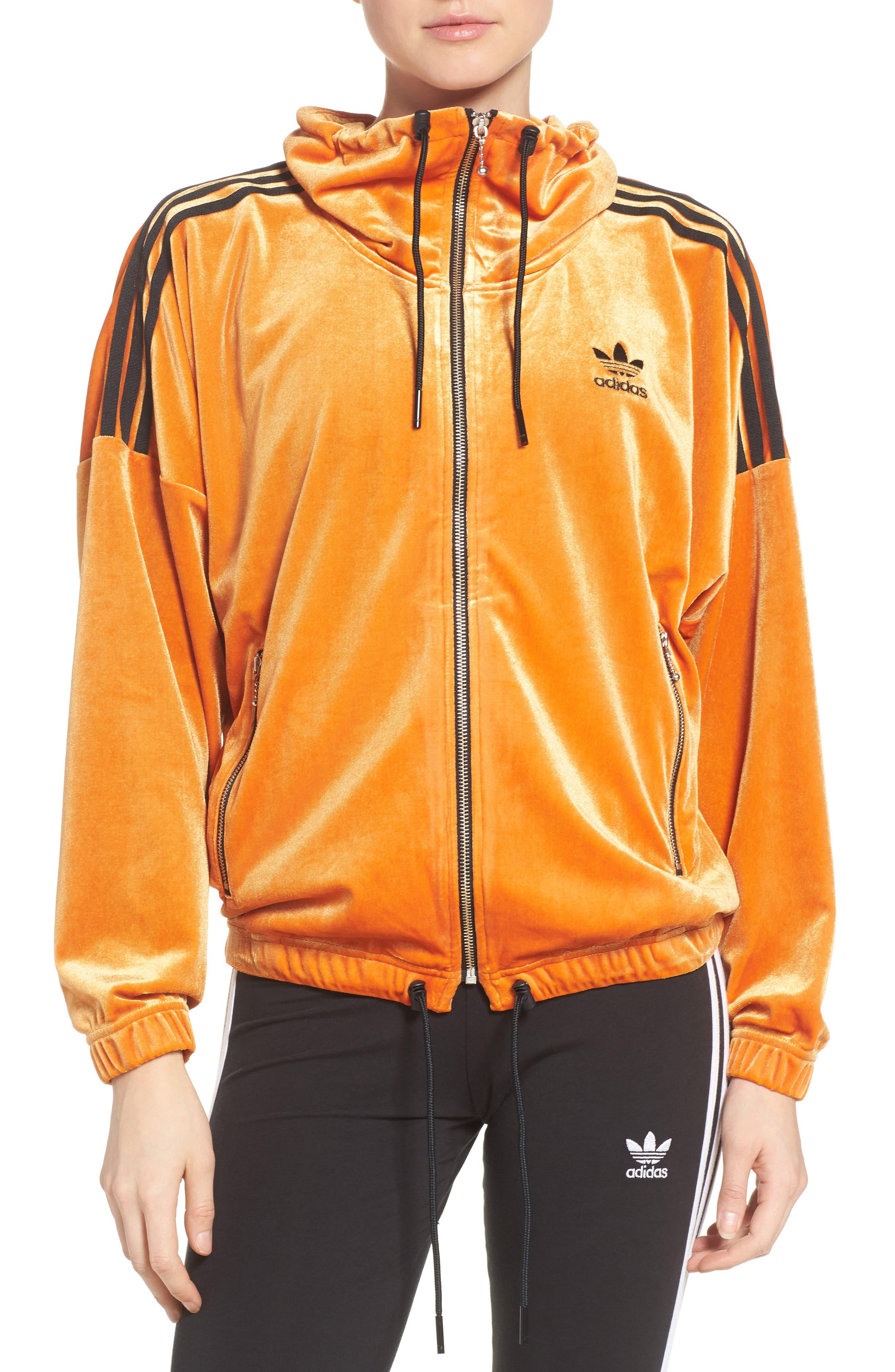Alternate Image 1 Selected - adidas Originals Oversize Track Jacket