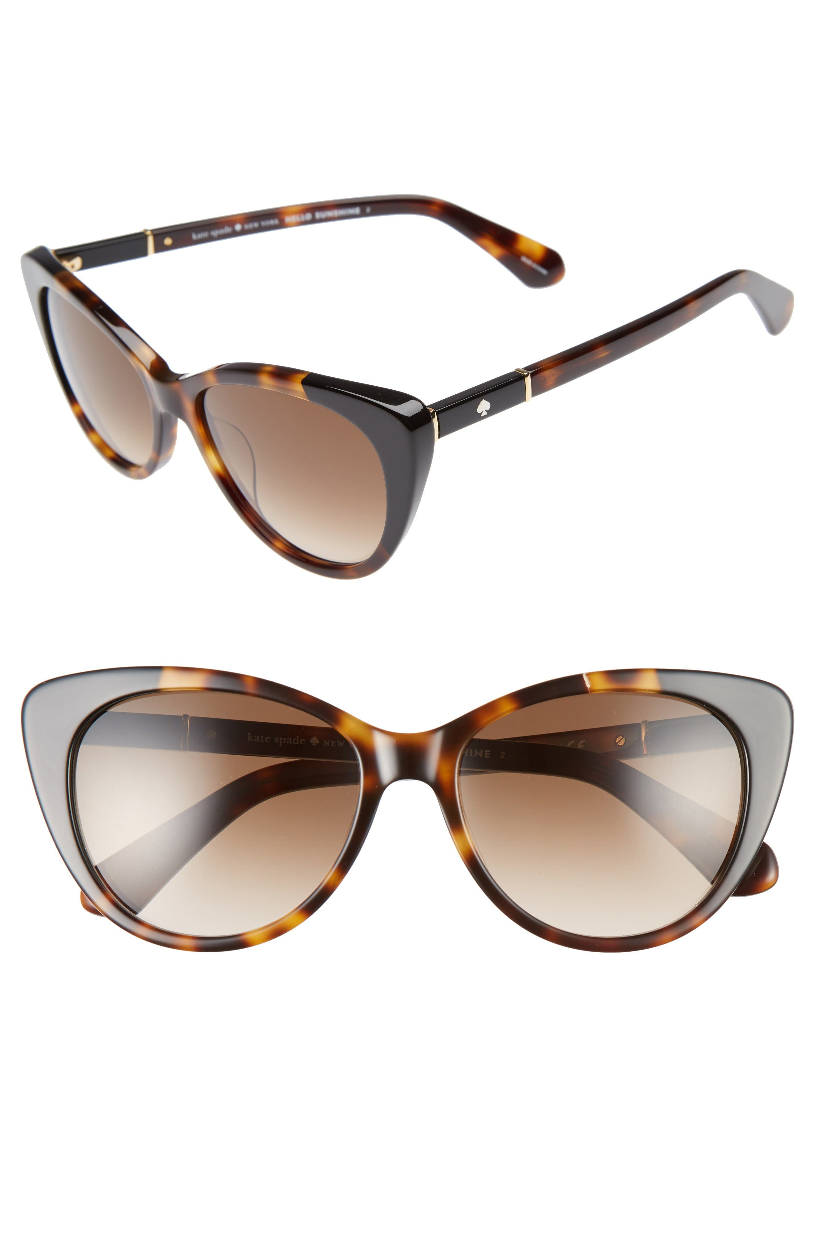 Alternate Image 1 Selected - kate spade new york sherylyn 54mm Sunglasses