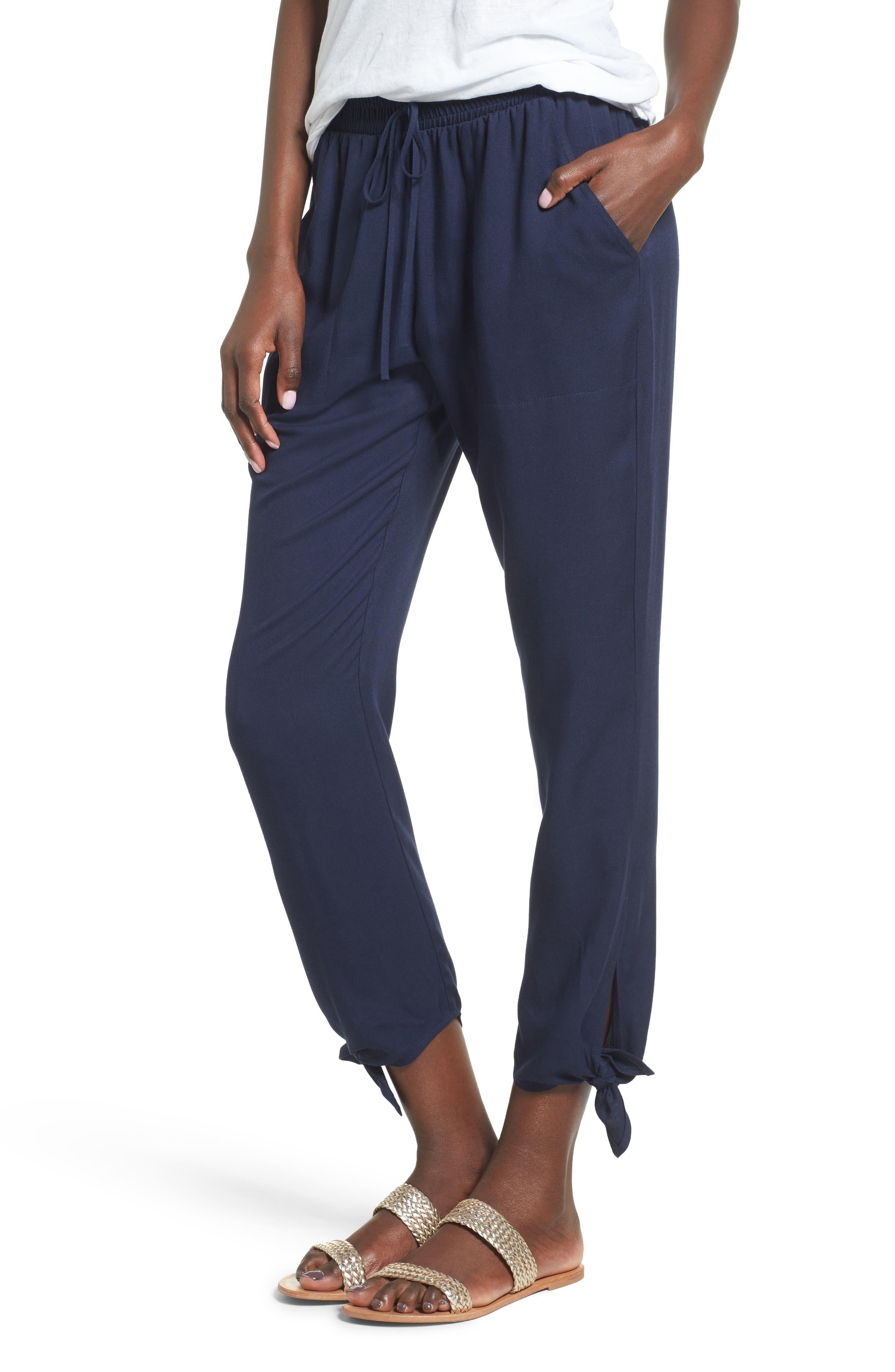 Main Image - Socialite Ankle Tie Pants