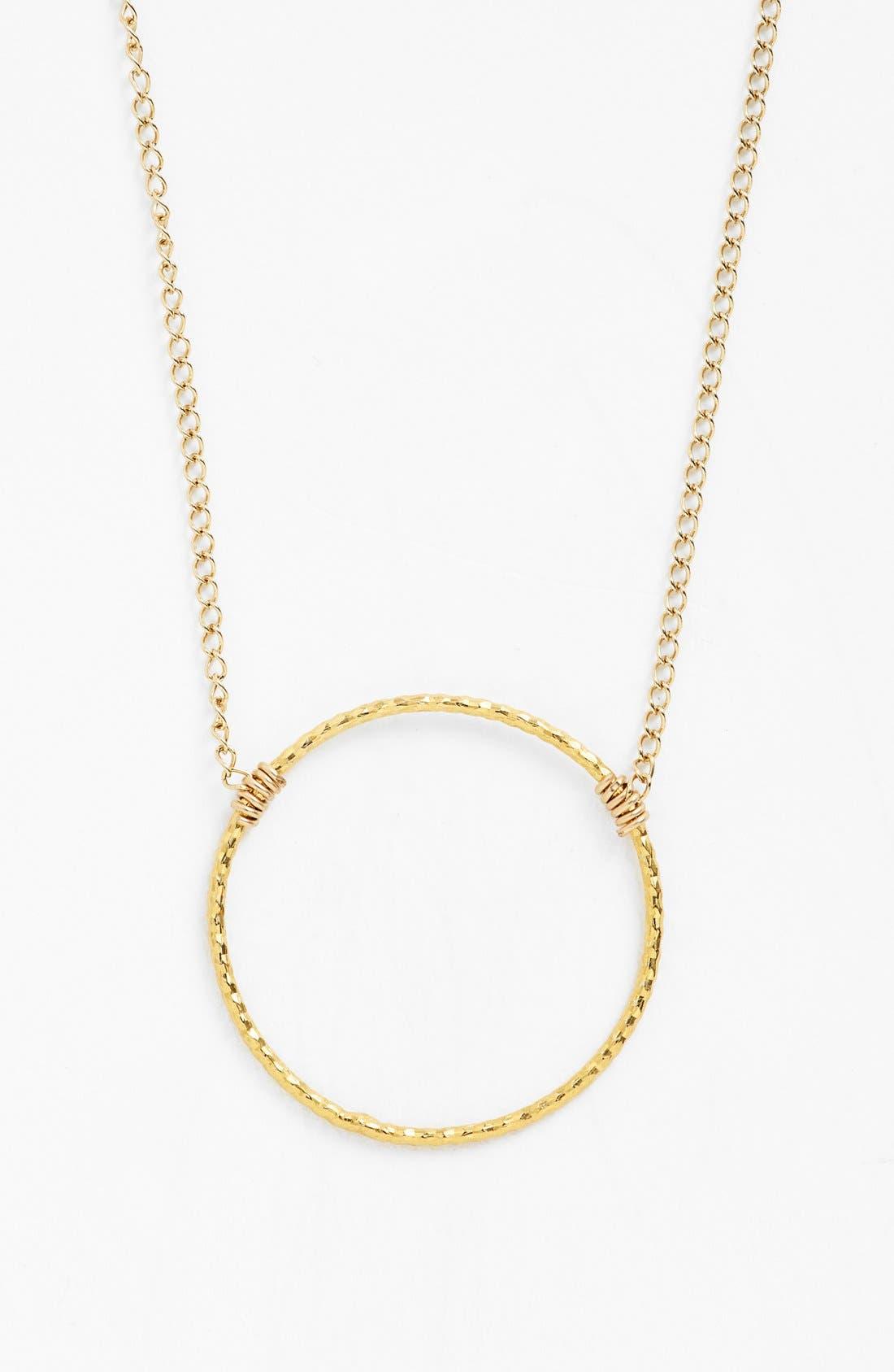 Alternate Image 4  - Dogeared 'Karma Sparkle' Pendant Necklace