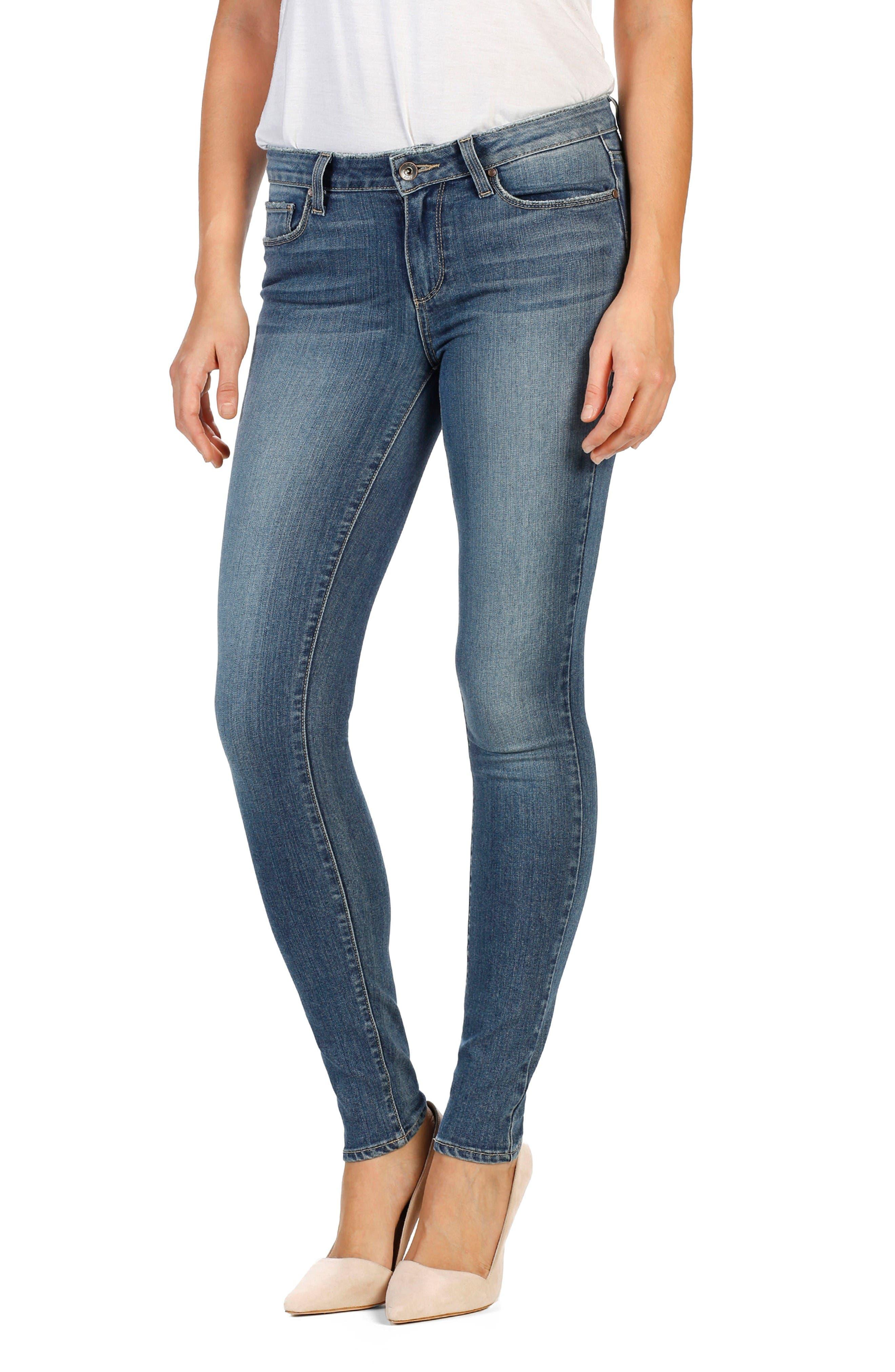 PAIGE Verdugo Ultra Skinny Jeans (Kalina)