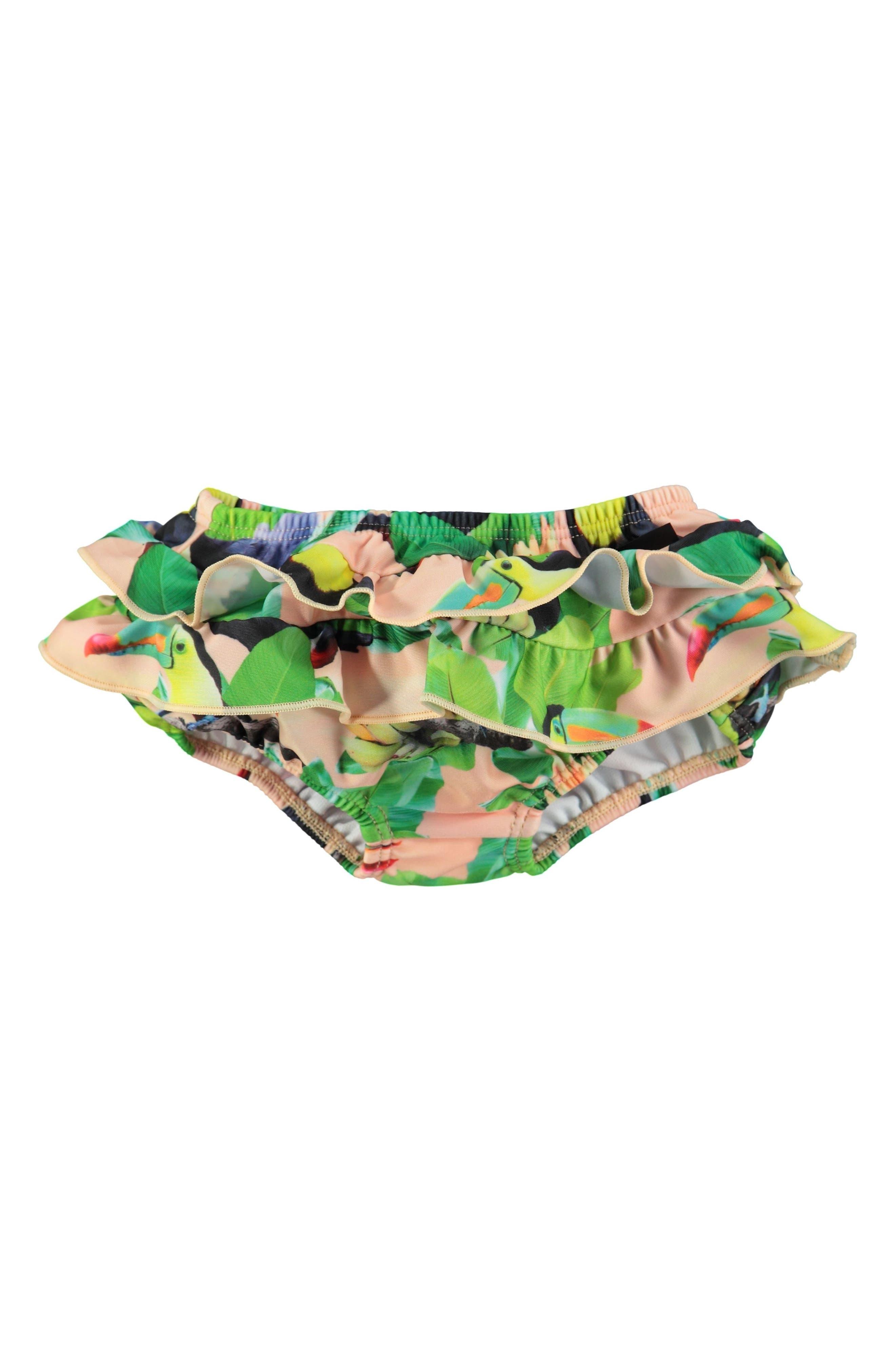 MOLO Neena Ruffled Swim Bottoms