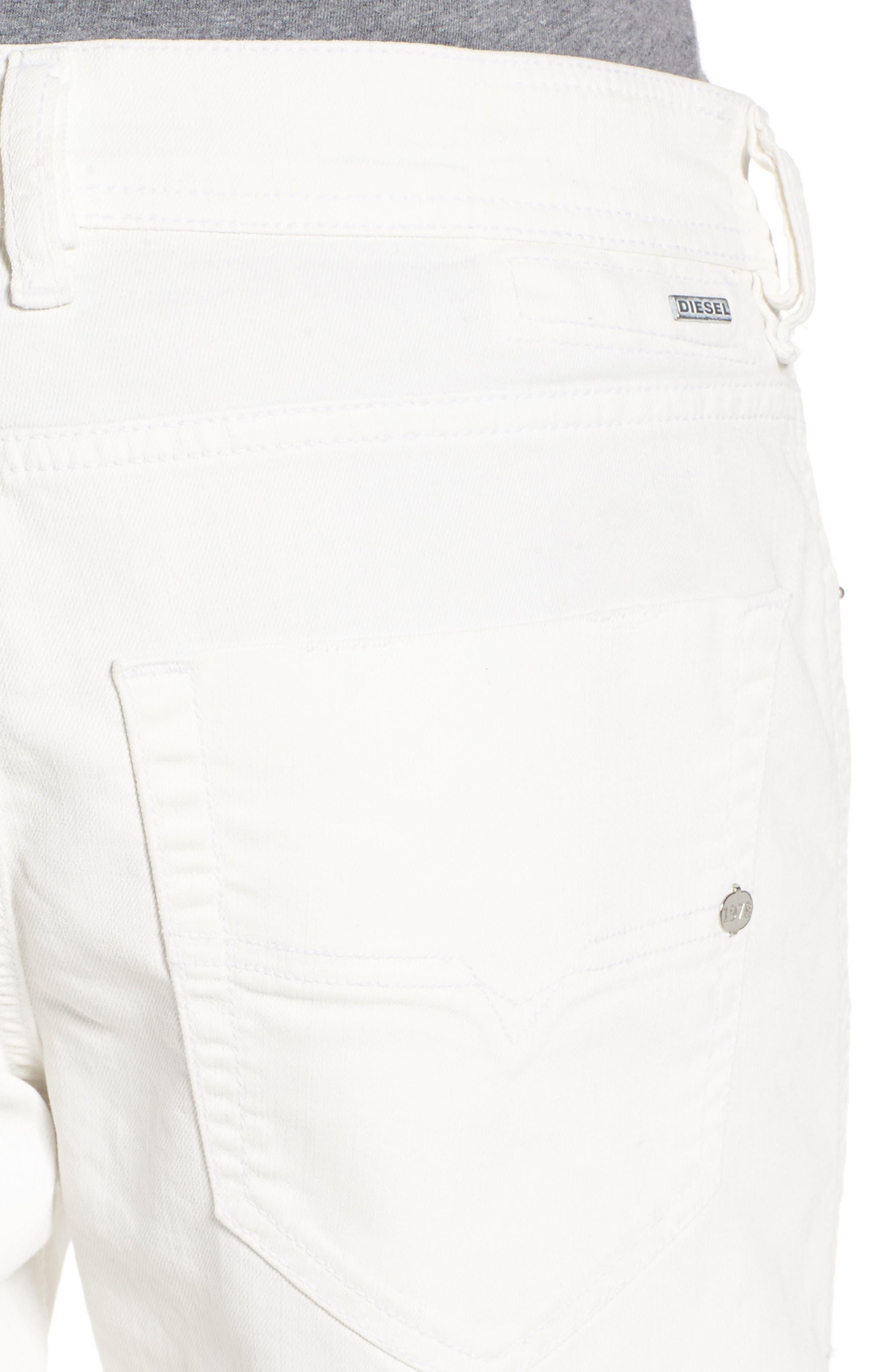 Alternate Image 4  - DIESEL® Tepphar Skinny Fit Jeans (0855U)