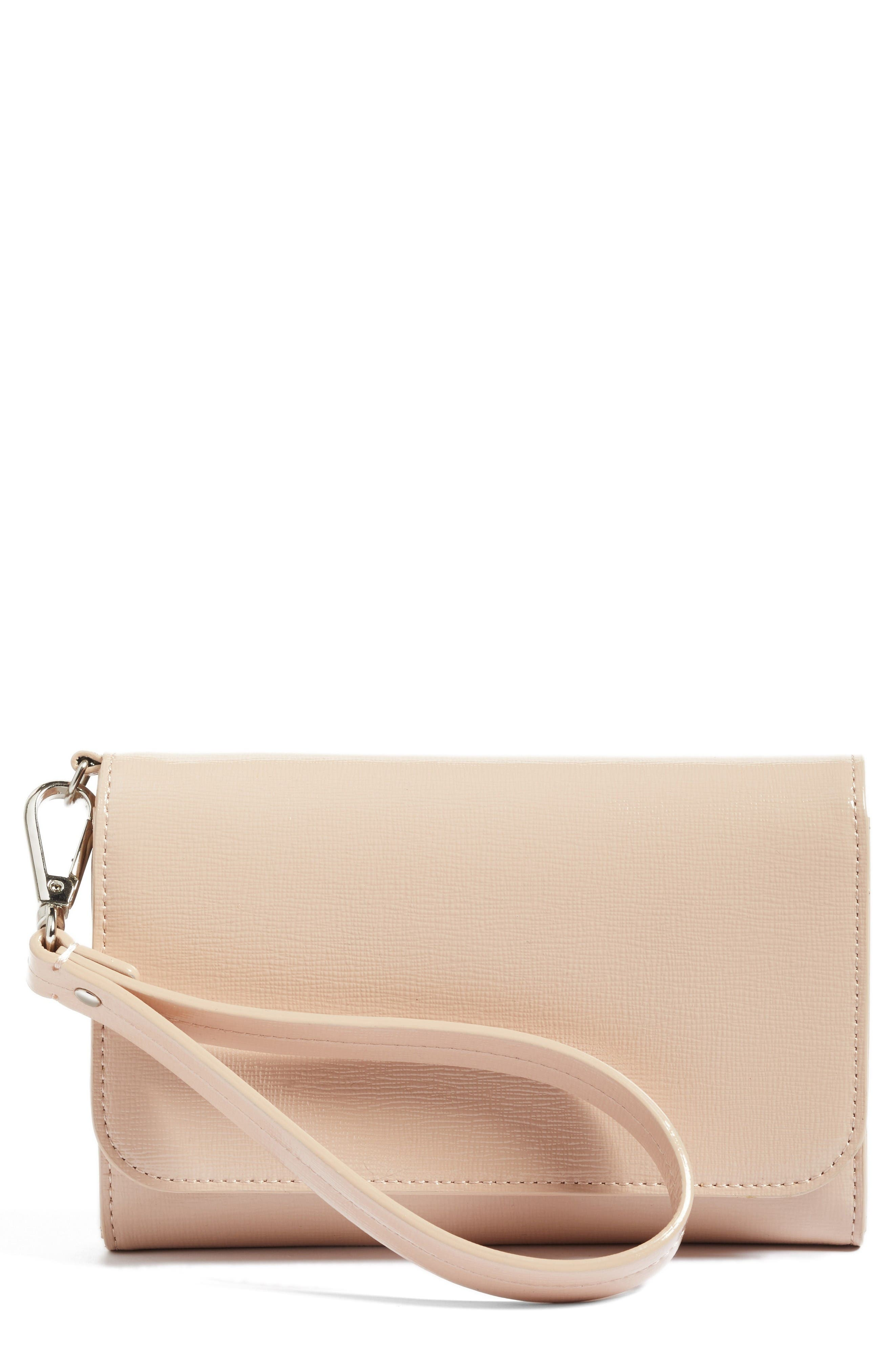 Nordstrom Trifold Leather Wallet