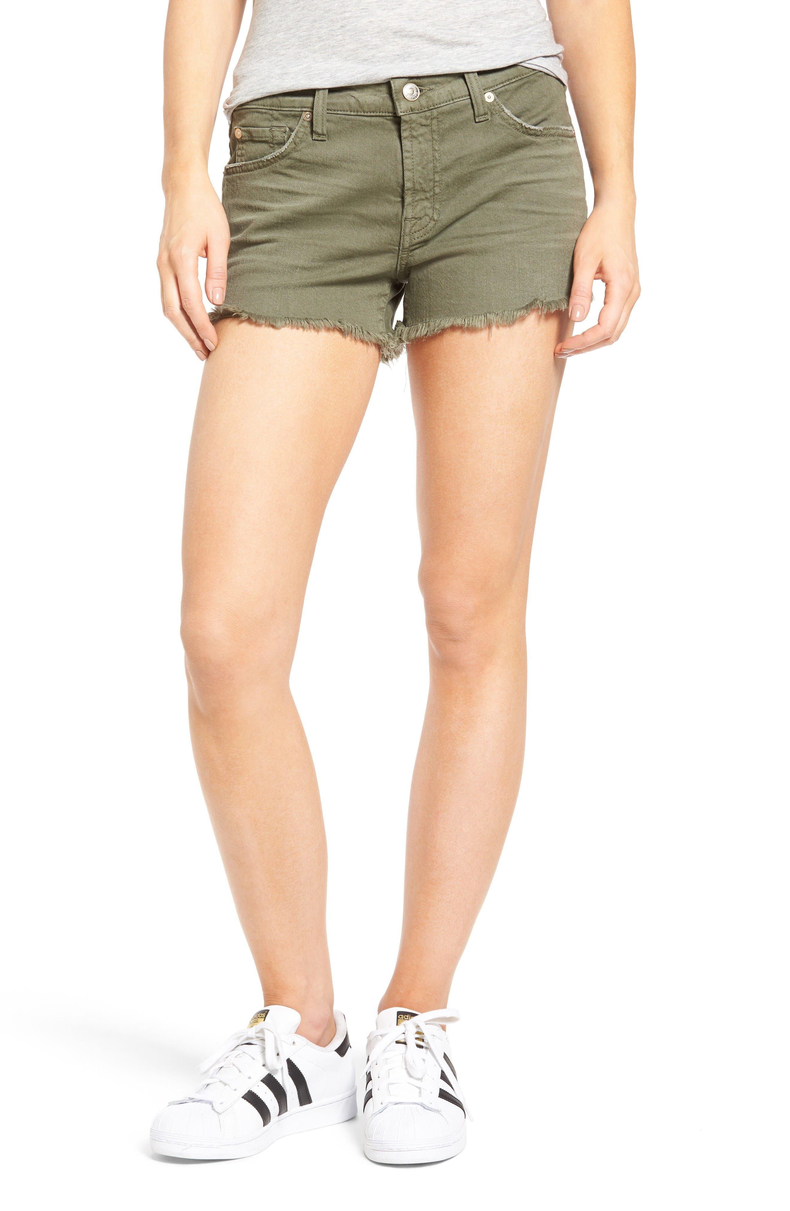7 For All Mankind® Cutoff Denim Shorts