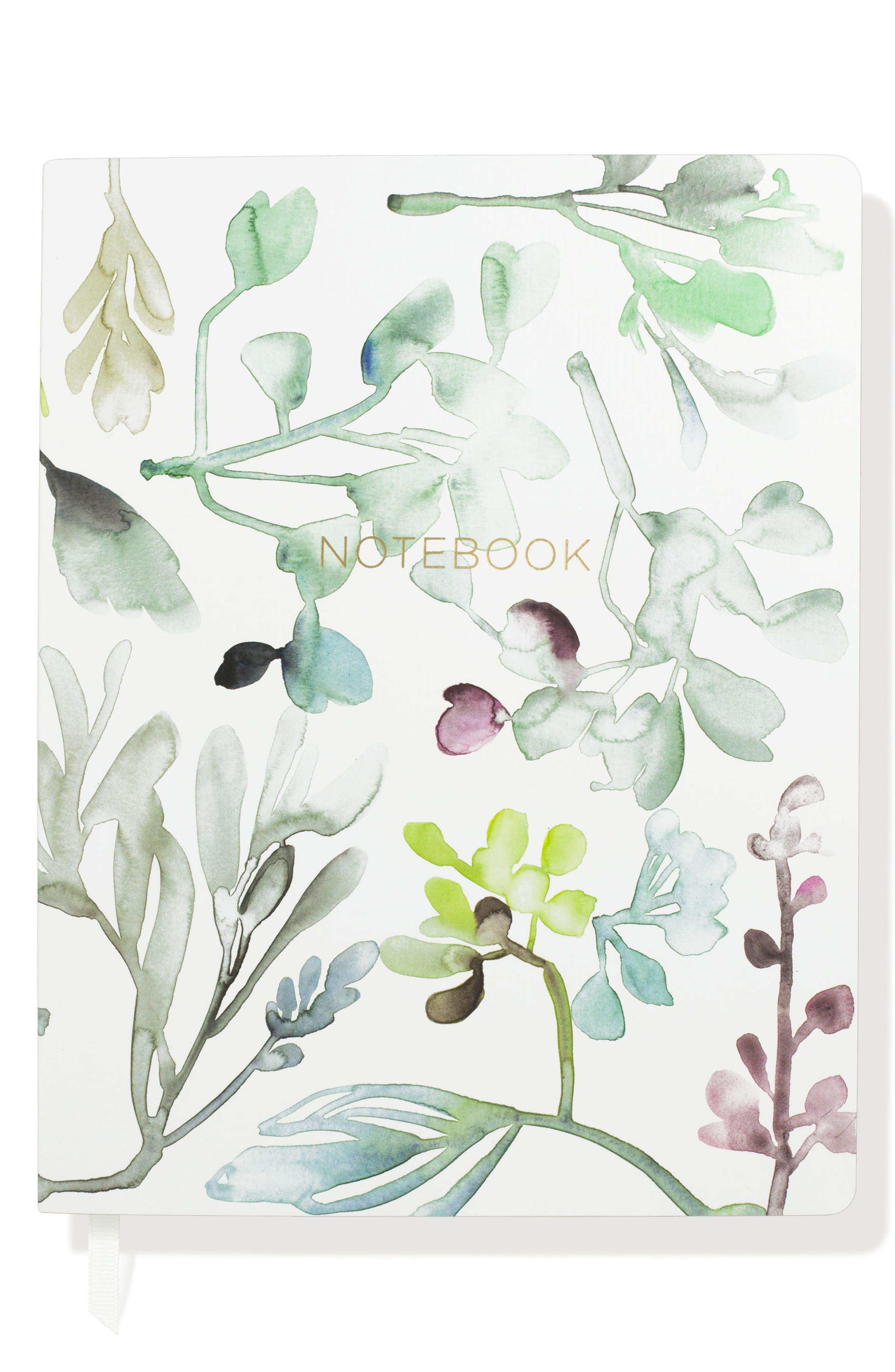 Fringe Studio Watercolor Leaves Journal