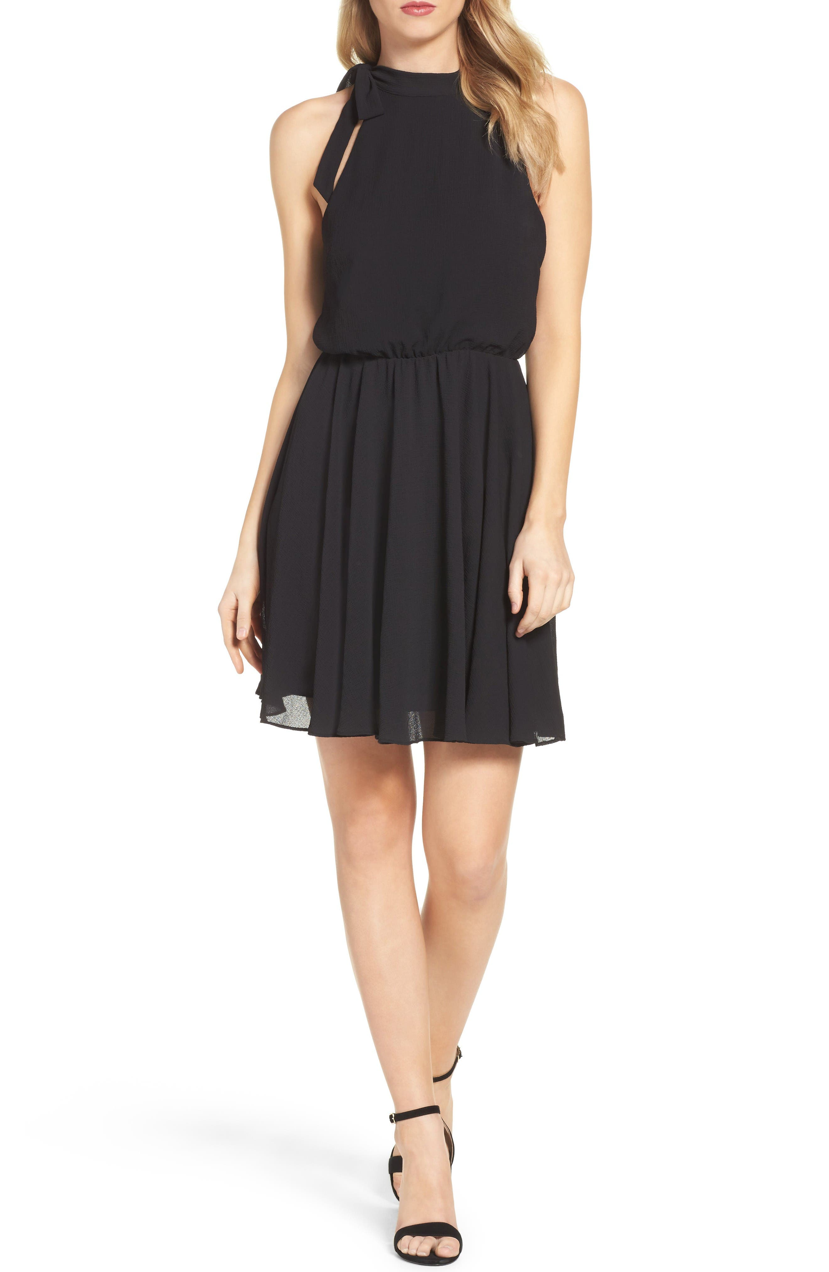 Ali & Jay Camellia Fit & Flare Dress
