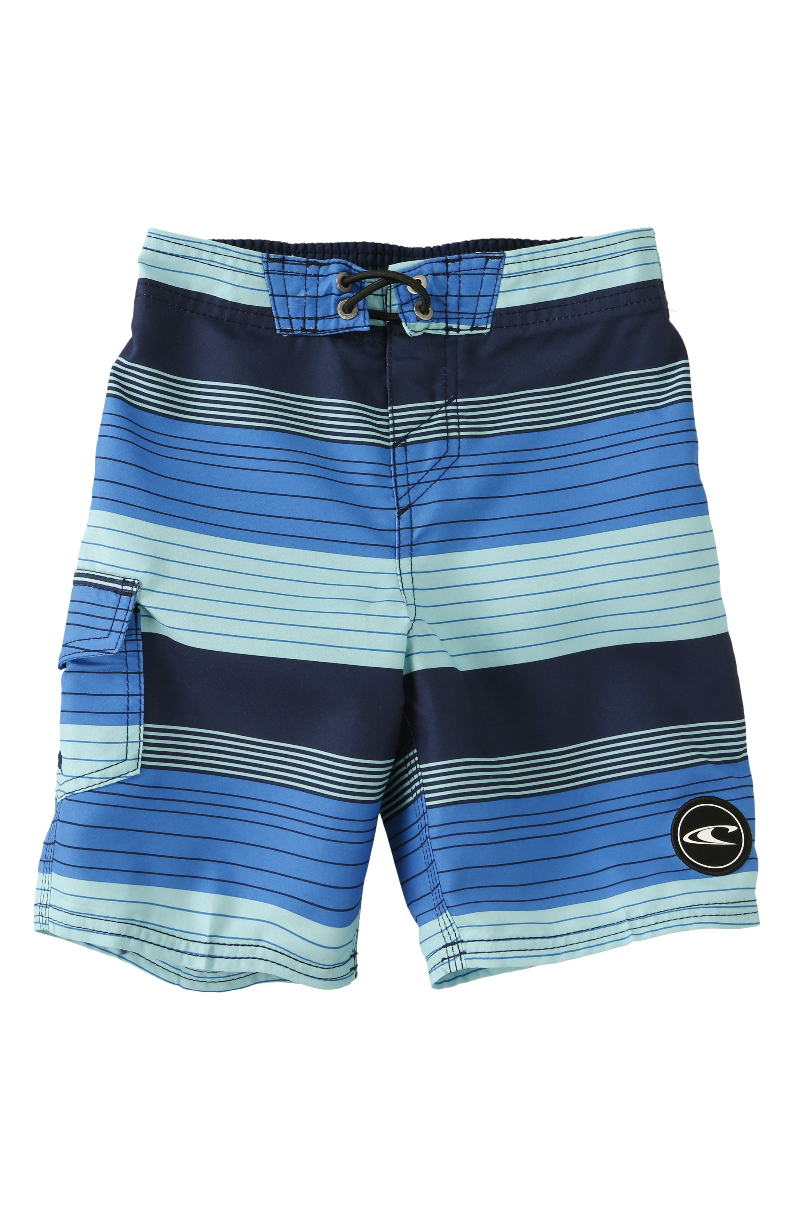 O'Neill Santa Cruz Stripe Board Shorts (Little Boys)