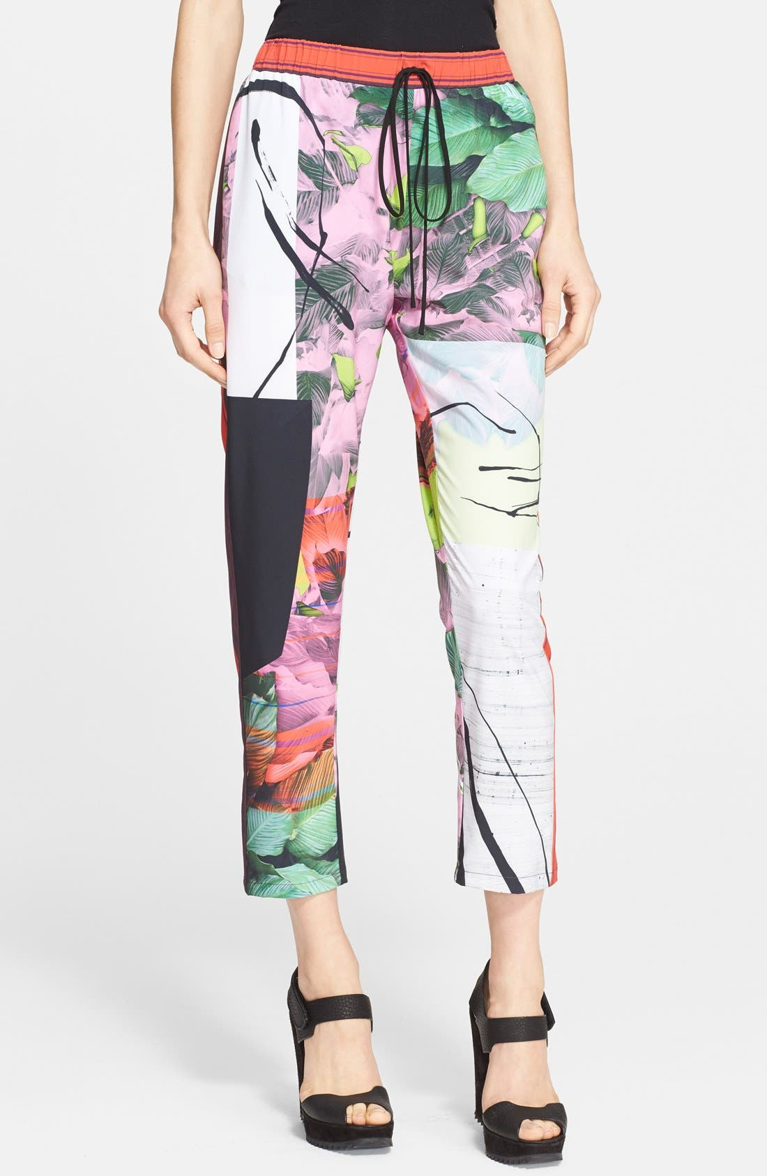 Alternate Image 1 Selected - Clover Canyon 'Painted Garden' Print Pants