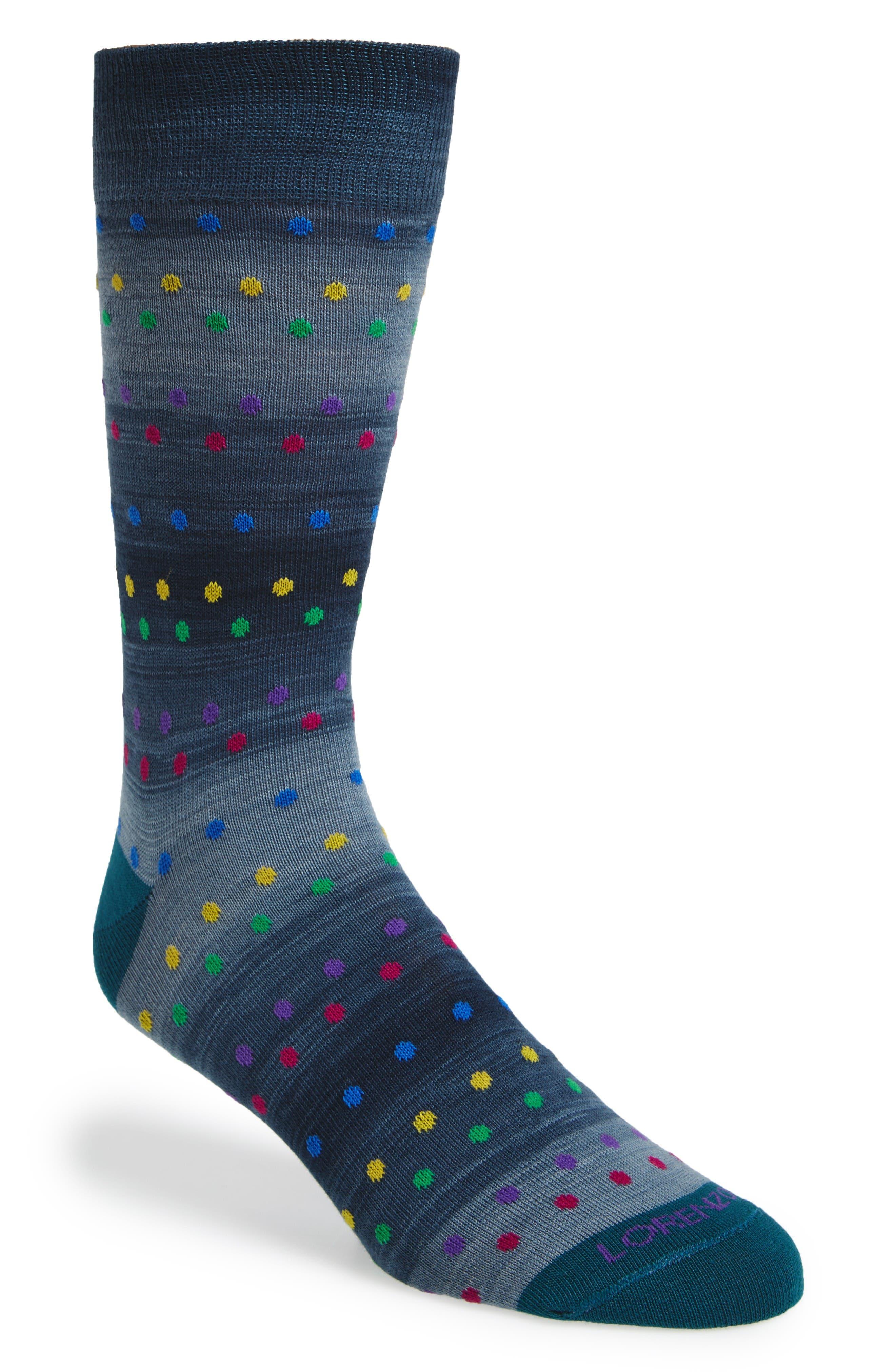 Lorenzo Uomo Dot Socks (3 for $30)