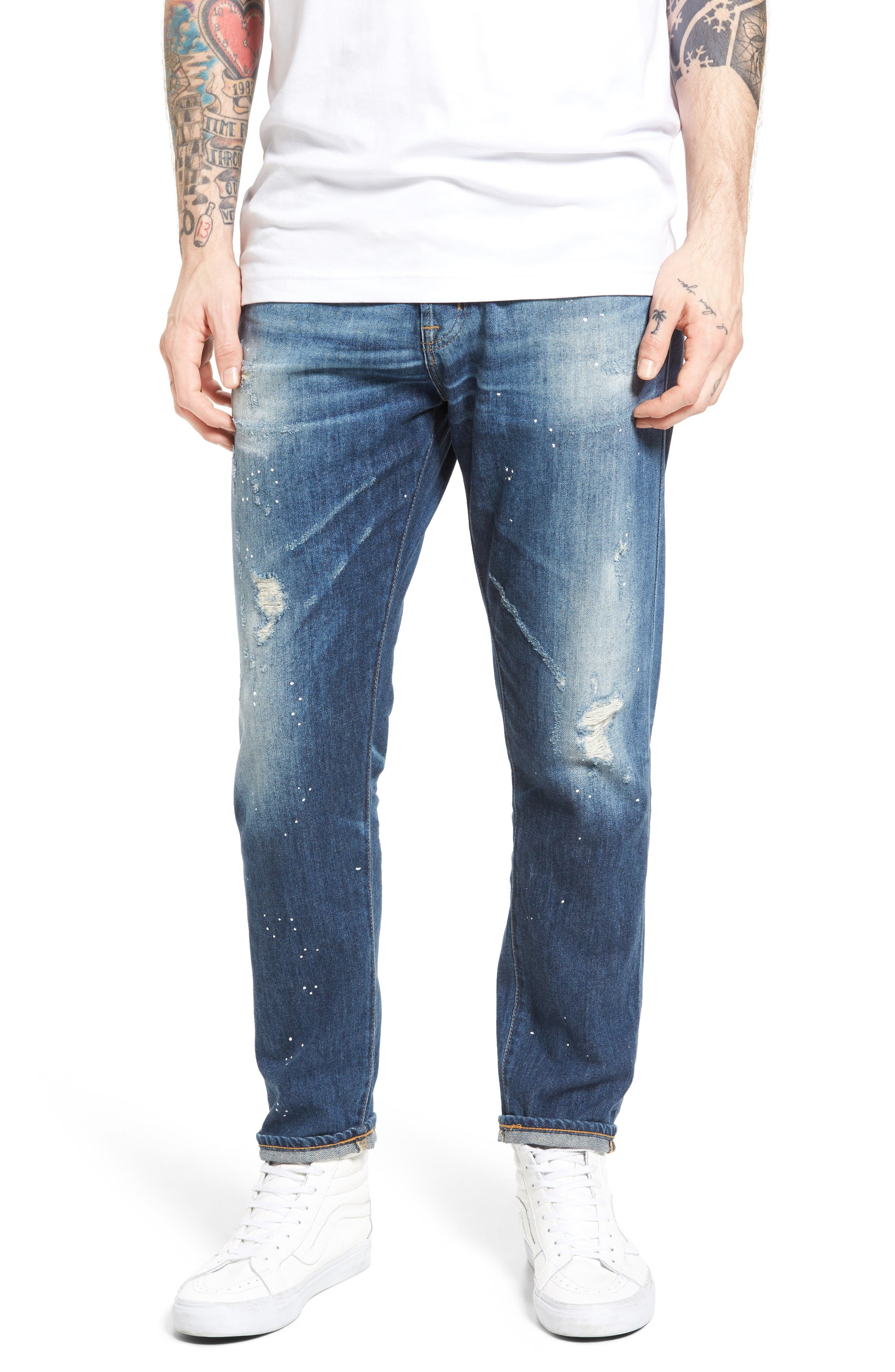 AG Slouchy Slim Fit Jeans (12 Years Cannes)
