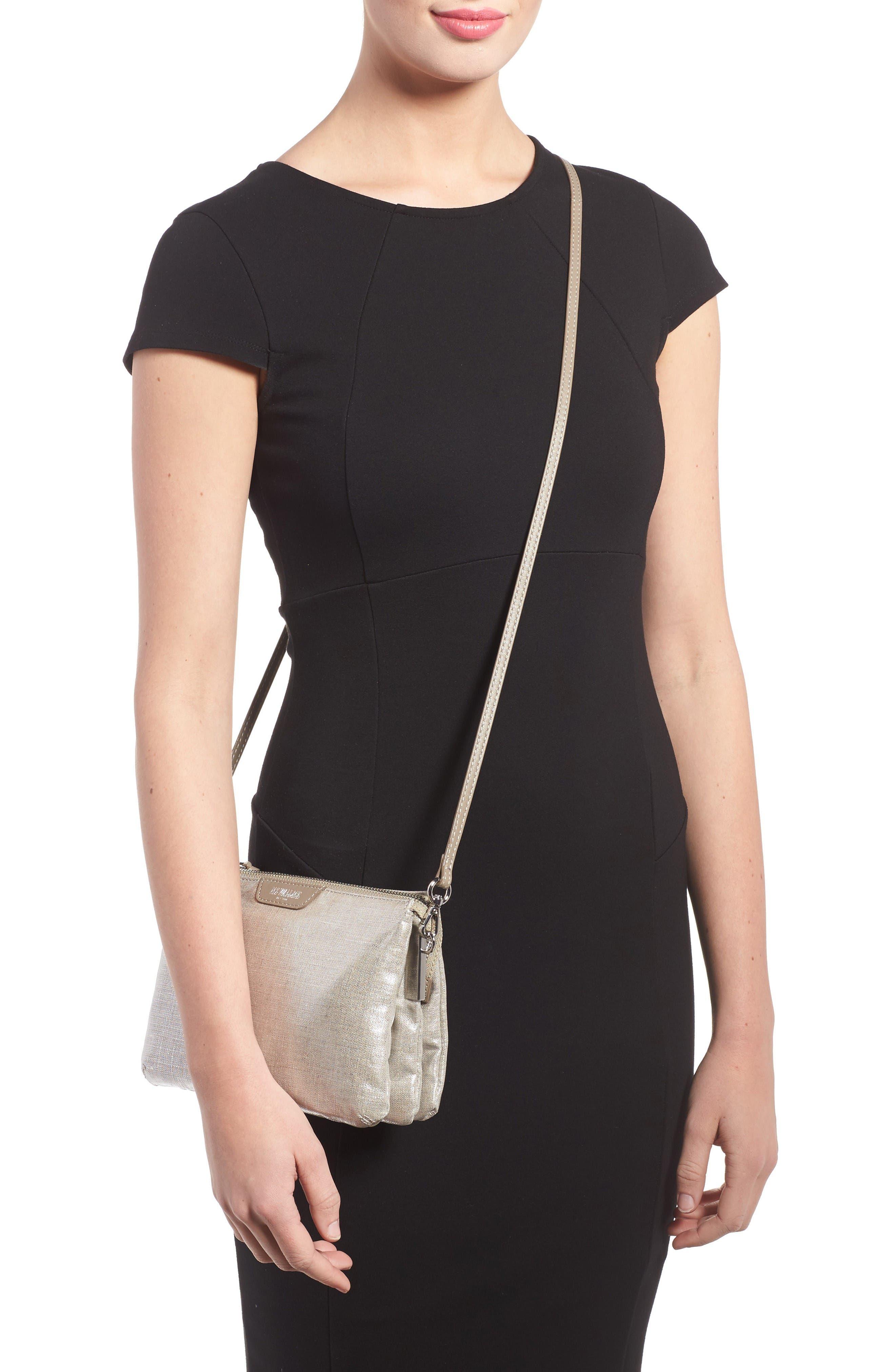 Alternate Image 2  - MZ Wallace 'Pippa' Bedford Nylon Crossbody Bag