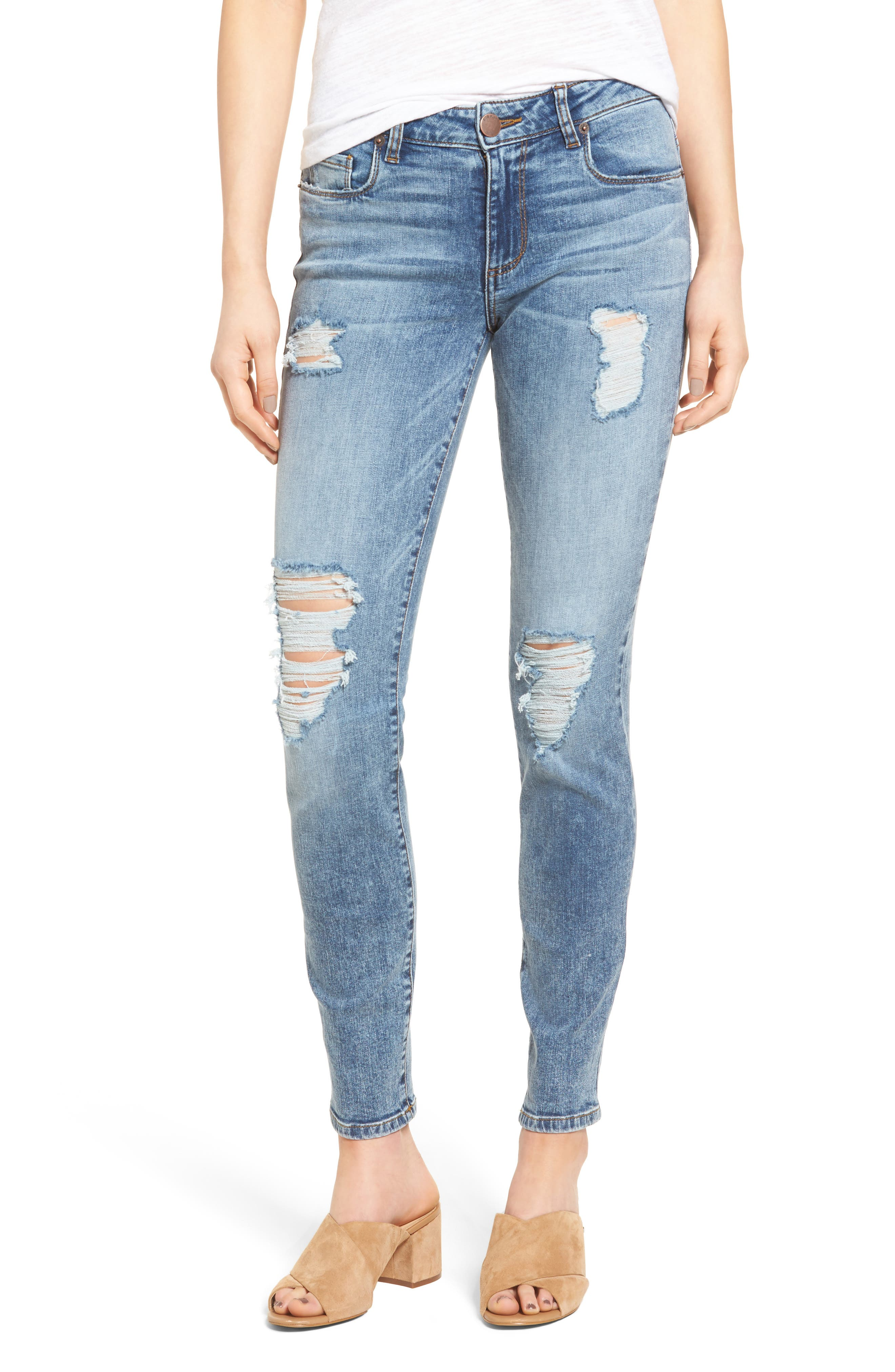 STS Blue Piper Ankle Skinny Jeans (Abalon Cove)