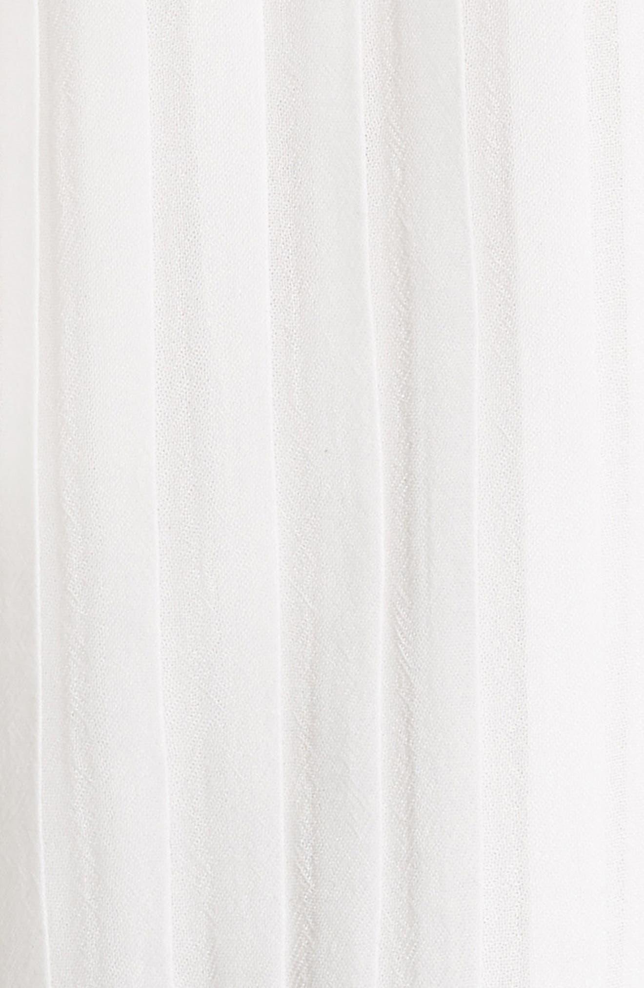 Alternate Image 5  - Alice + Olivia Fefe Pleat Cold Shoulder Blouse