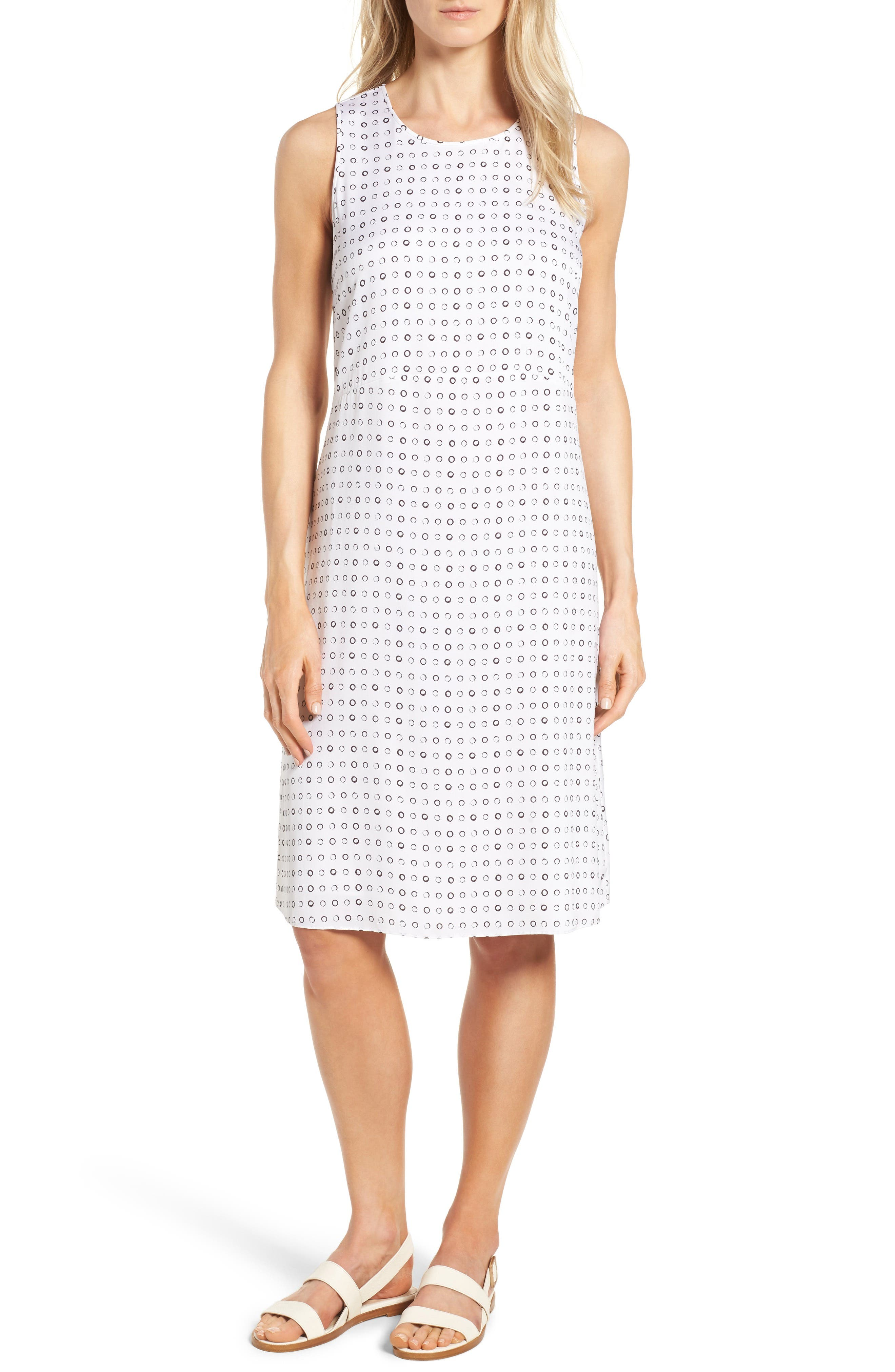 Nordstrom Collection Stretch Silk Shift Dress