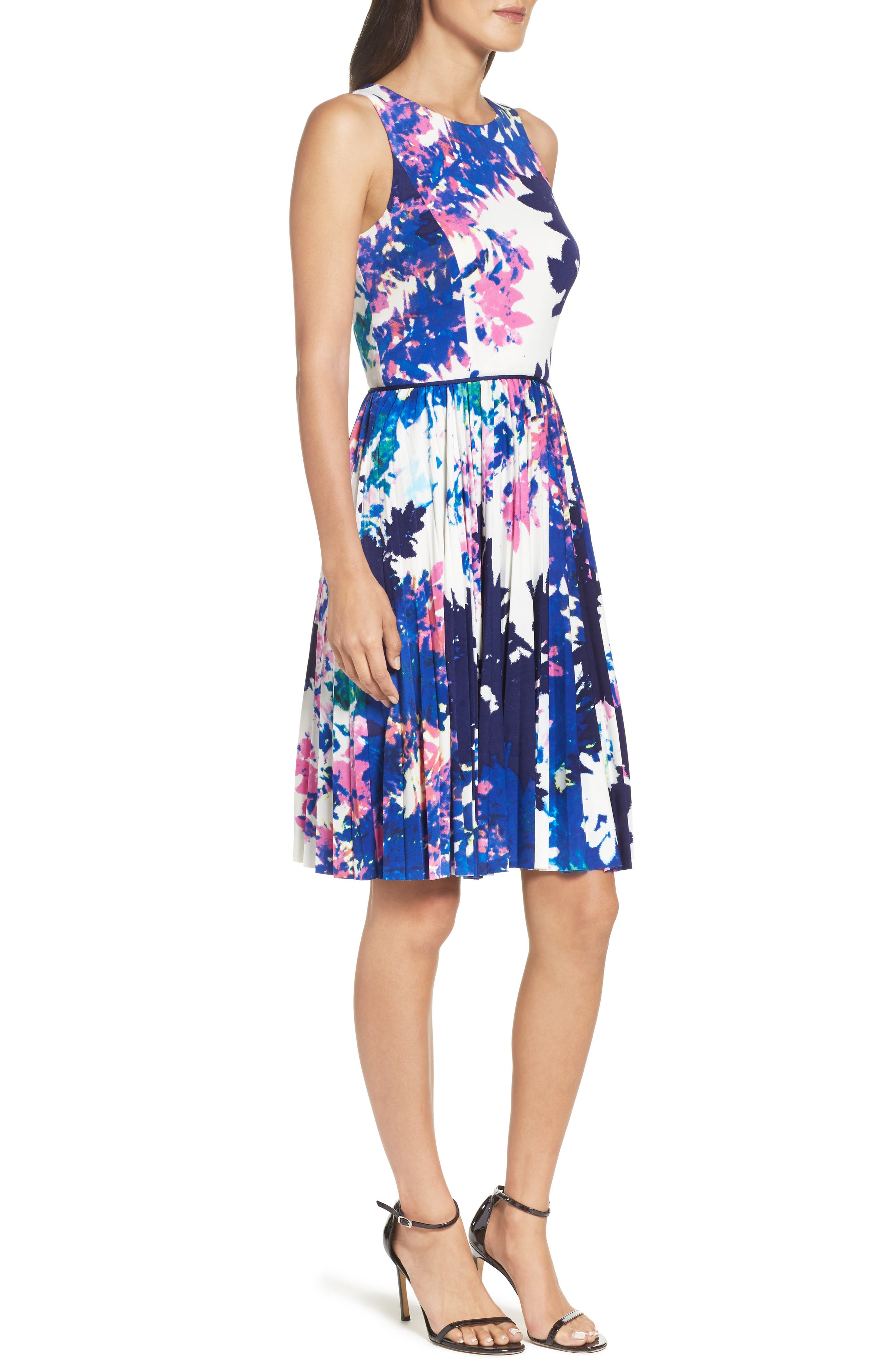 Alternate Image 3  - Maggy London Stretch Fit & Flare Dress (Regular & Petite)