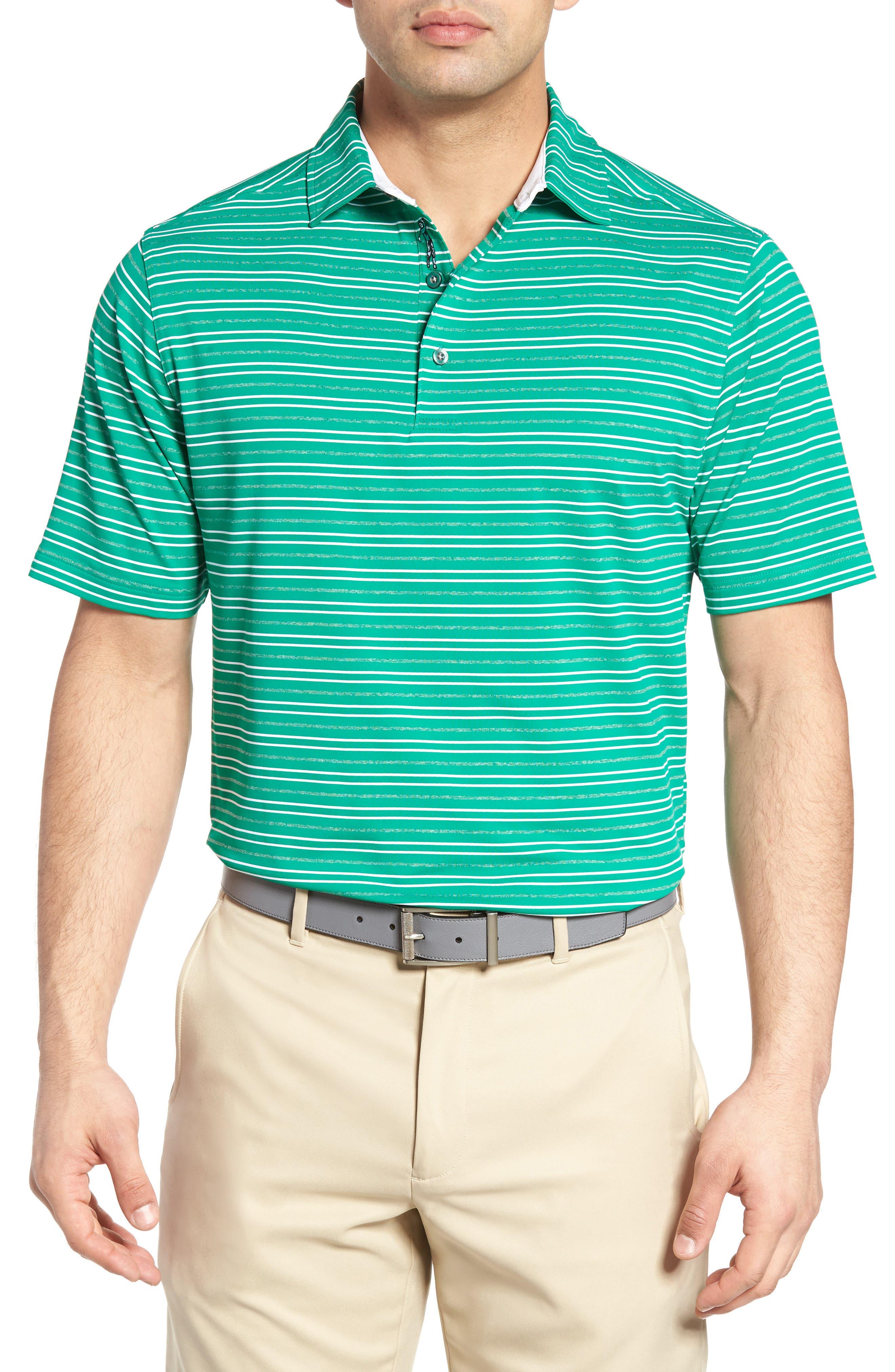 Bobby Jones XH20 Barley Stripe Stretch Golf Polo