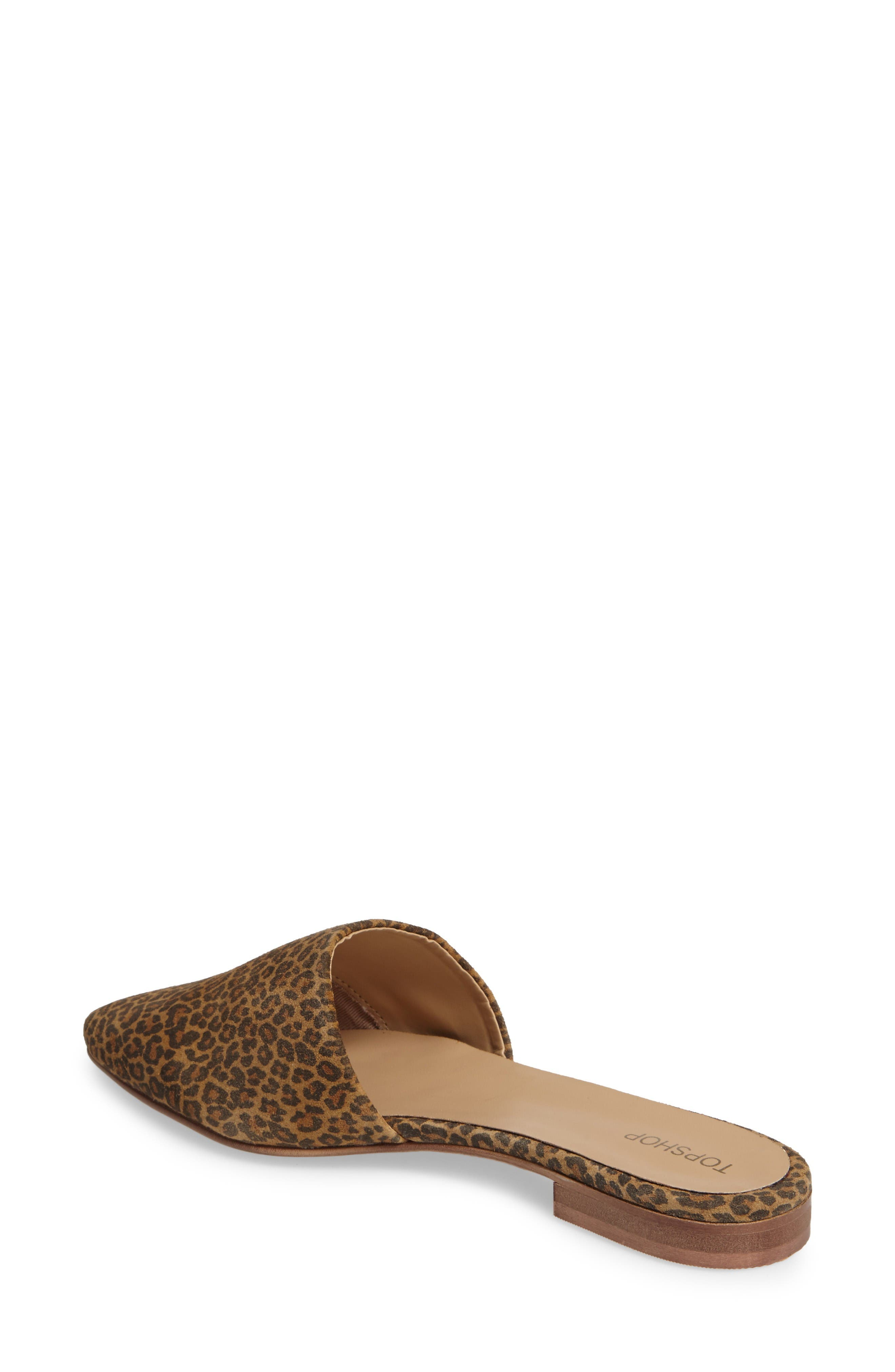 Alternate Image 2  - Topshop Angelina Flat Mule (Women)