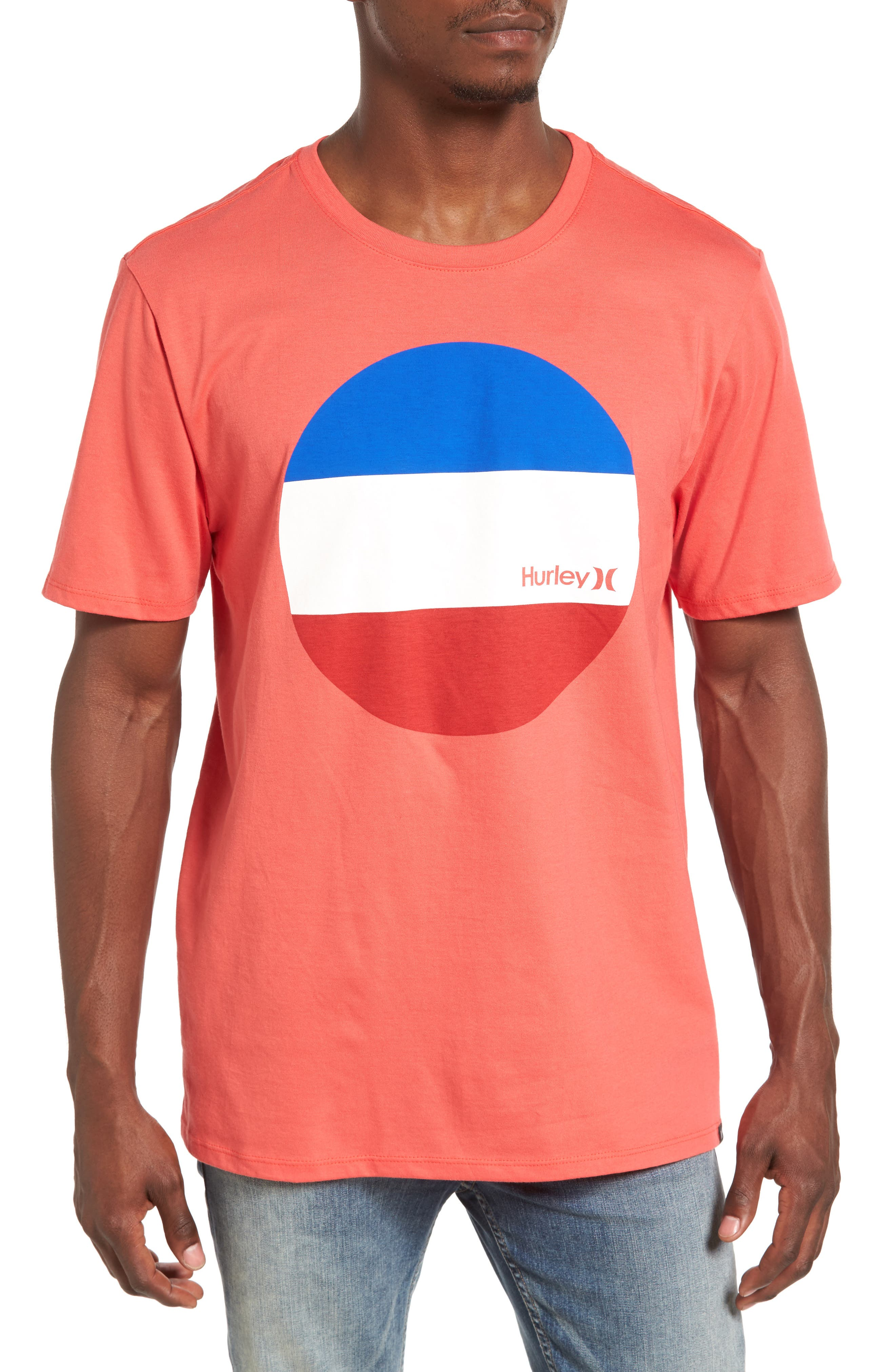 Hurley Circular Block Graphic T-Shirt