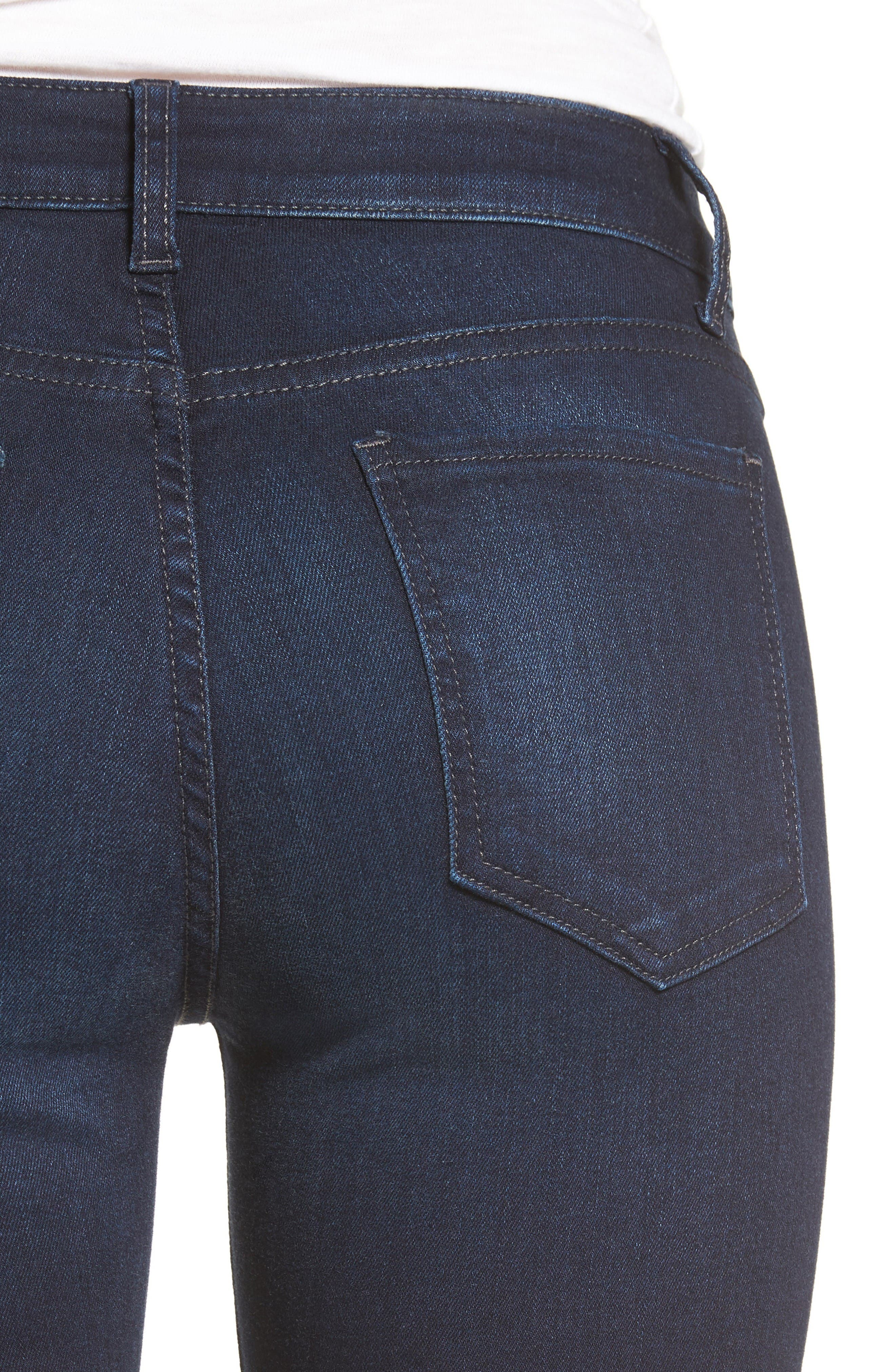 Alternate Image 4  - KUT from the Kloth Diana Stretch Skinny Jeans (Gained) (Regular & Petite)