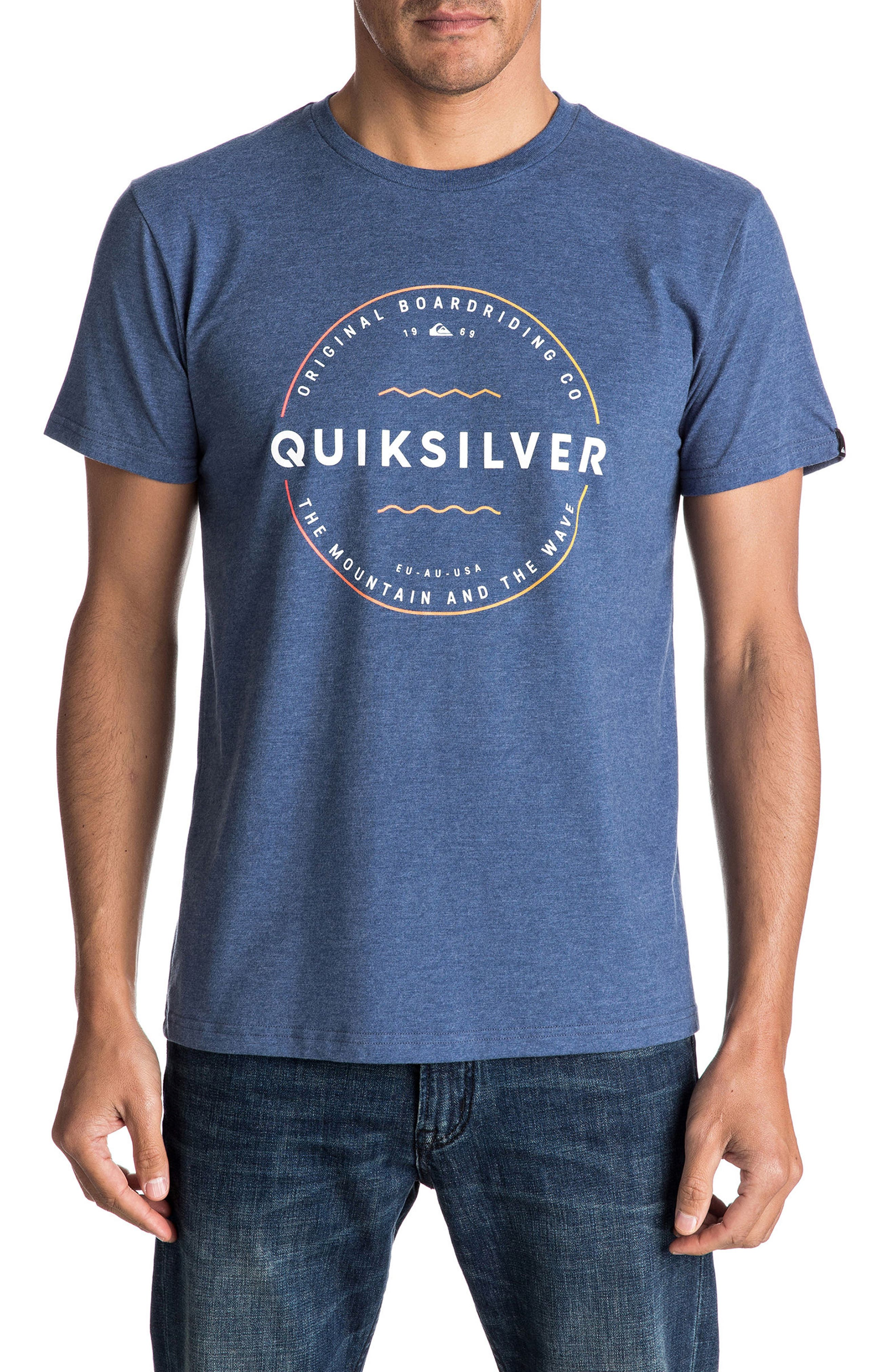 Quiksilver Zone Out Graphic T-Shirt