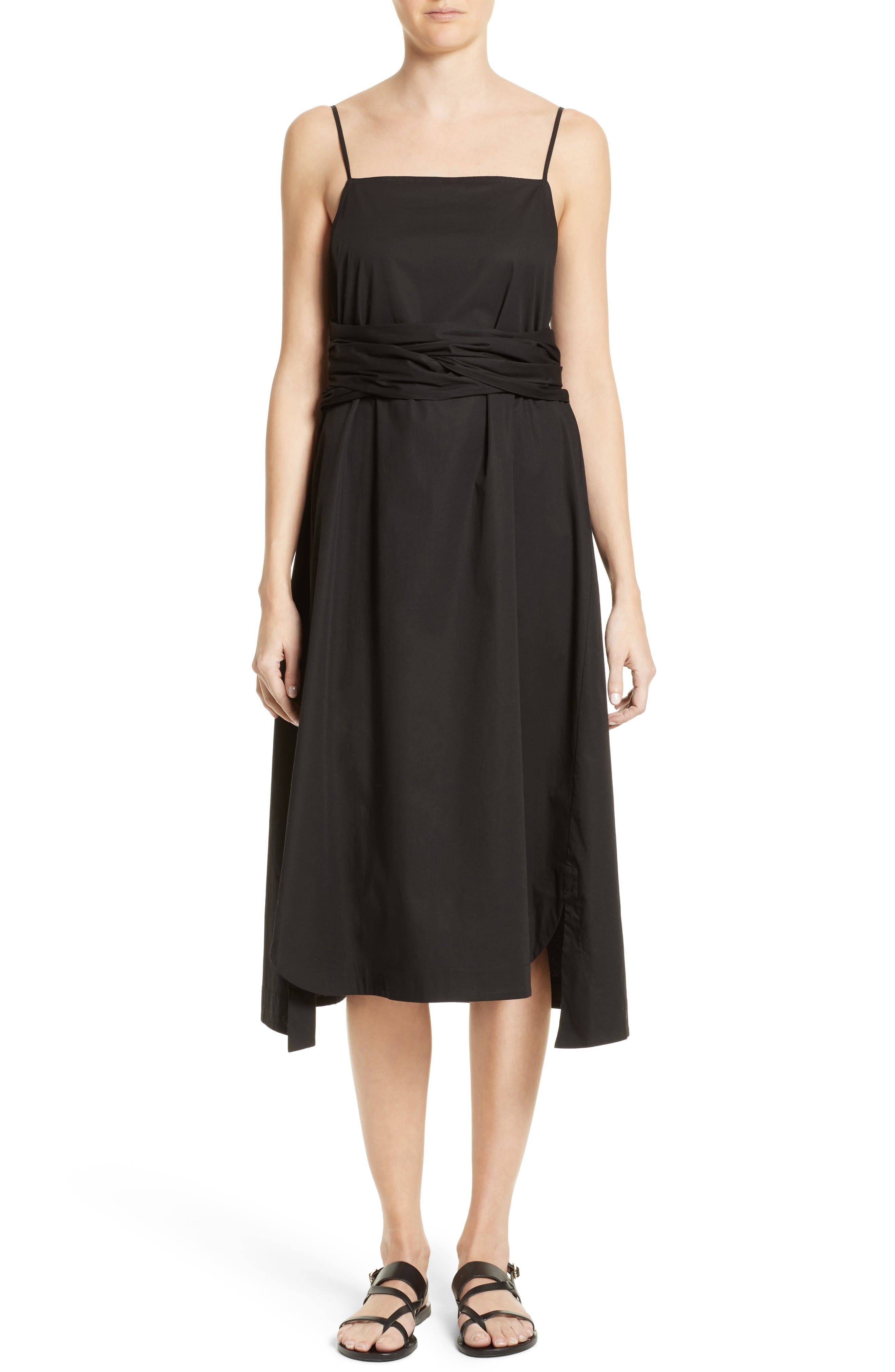 Elizabeth and James Oak Tie Waist Dress