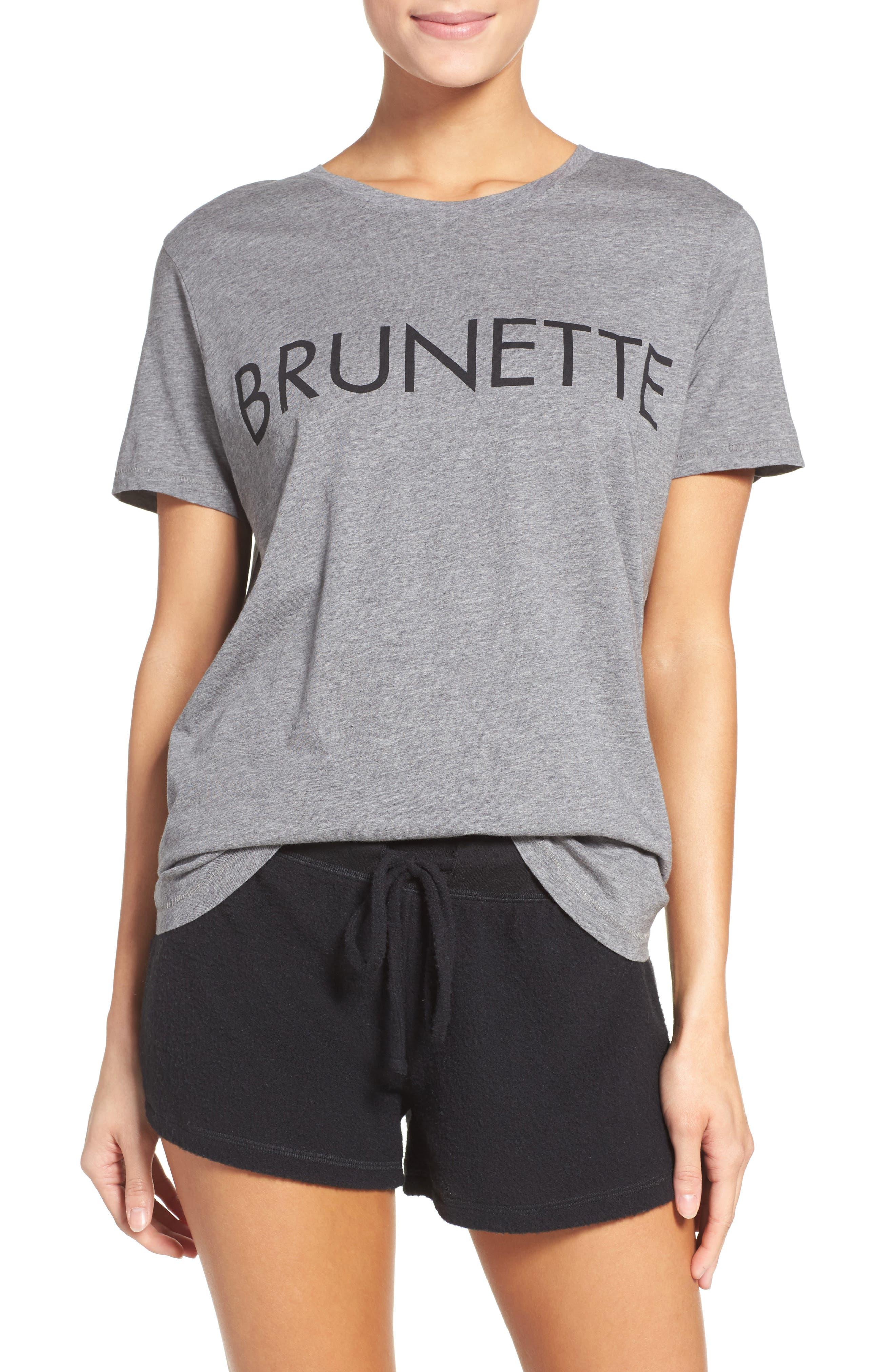 BRUNETTE The Ryan - Brunette Lounge Tee