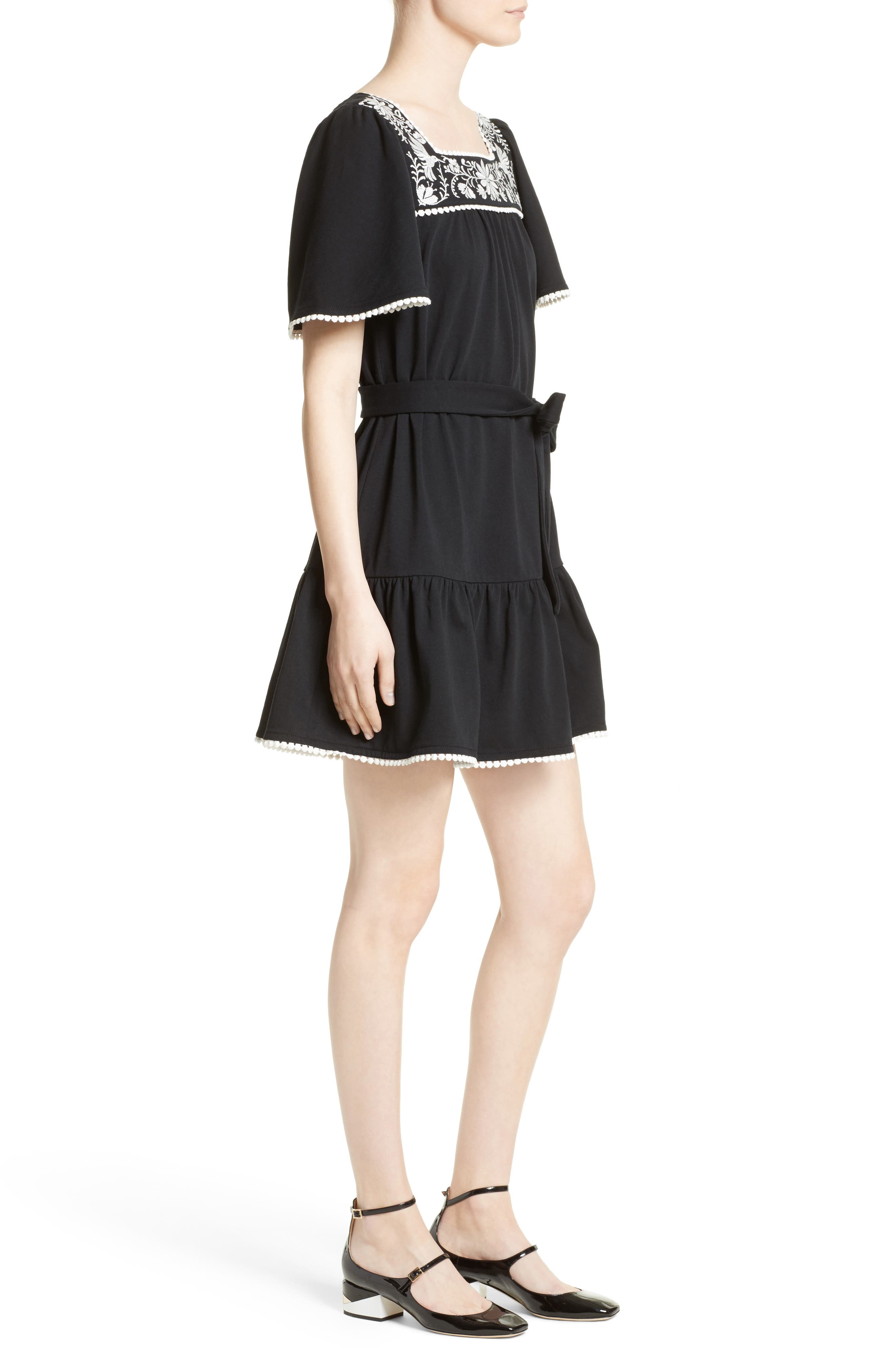 Alternate Image 3  - kate spade embroidered a-line dress