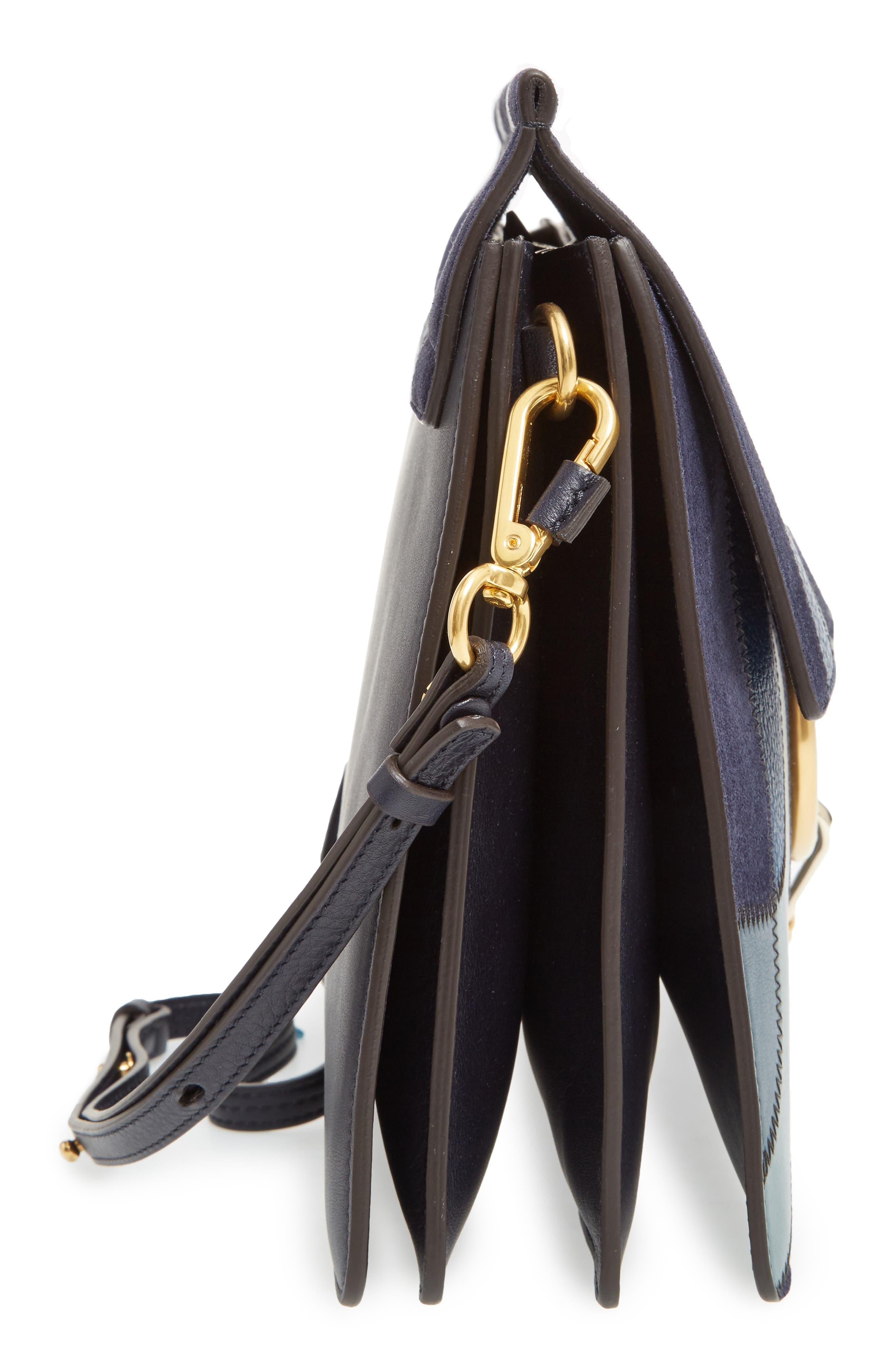 Alternate Image 5  - Chloé Medium Faye Patchwork Leather Shoulder Bag