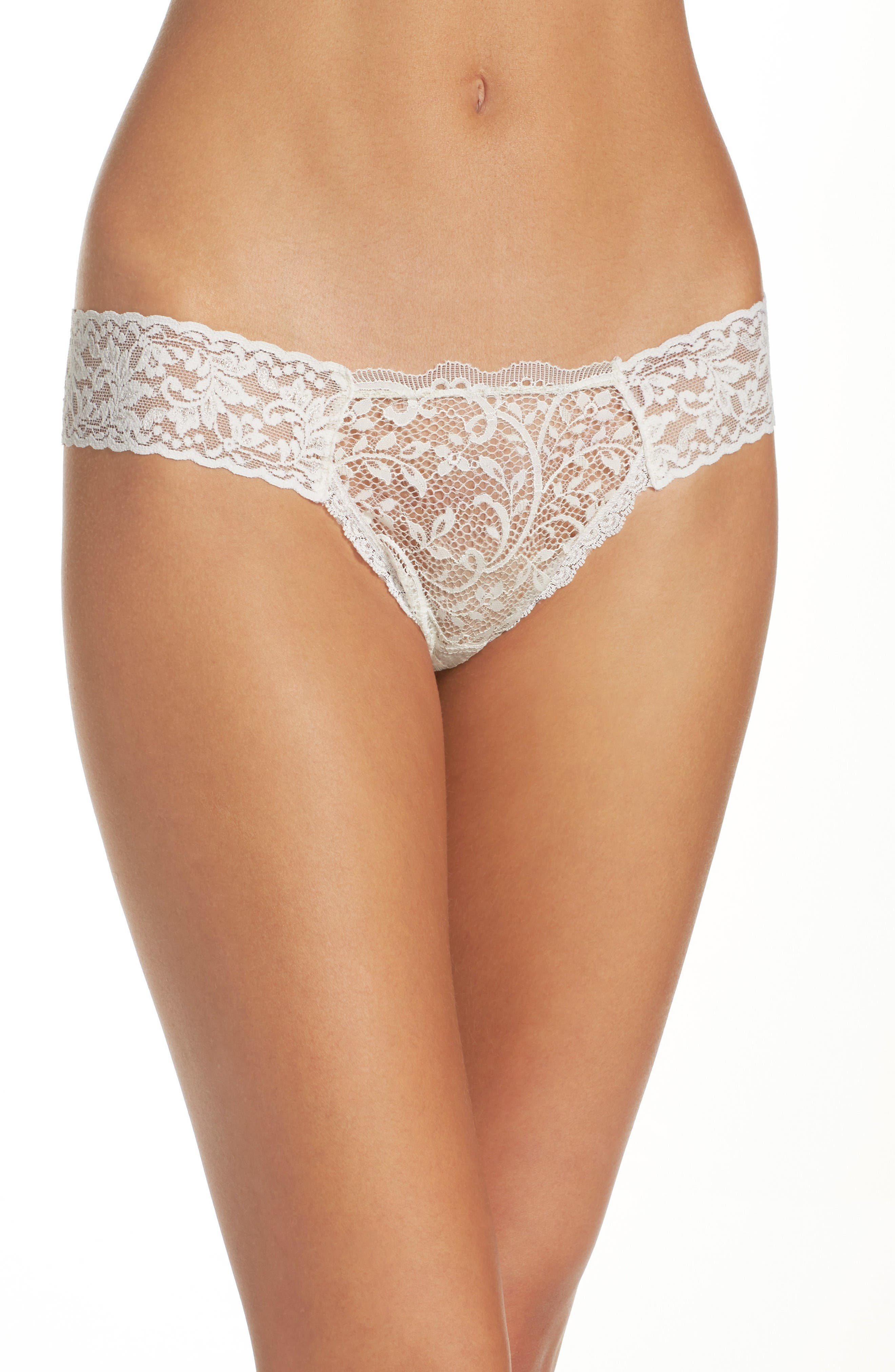 Hanky Panky Queen Anne Thong