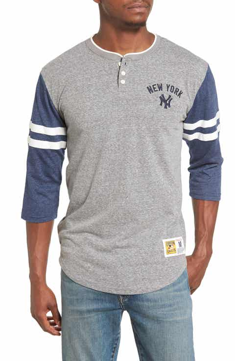 Mitchell   Ness Home Stretch - New York Yankees Henley