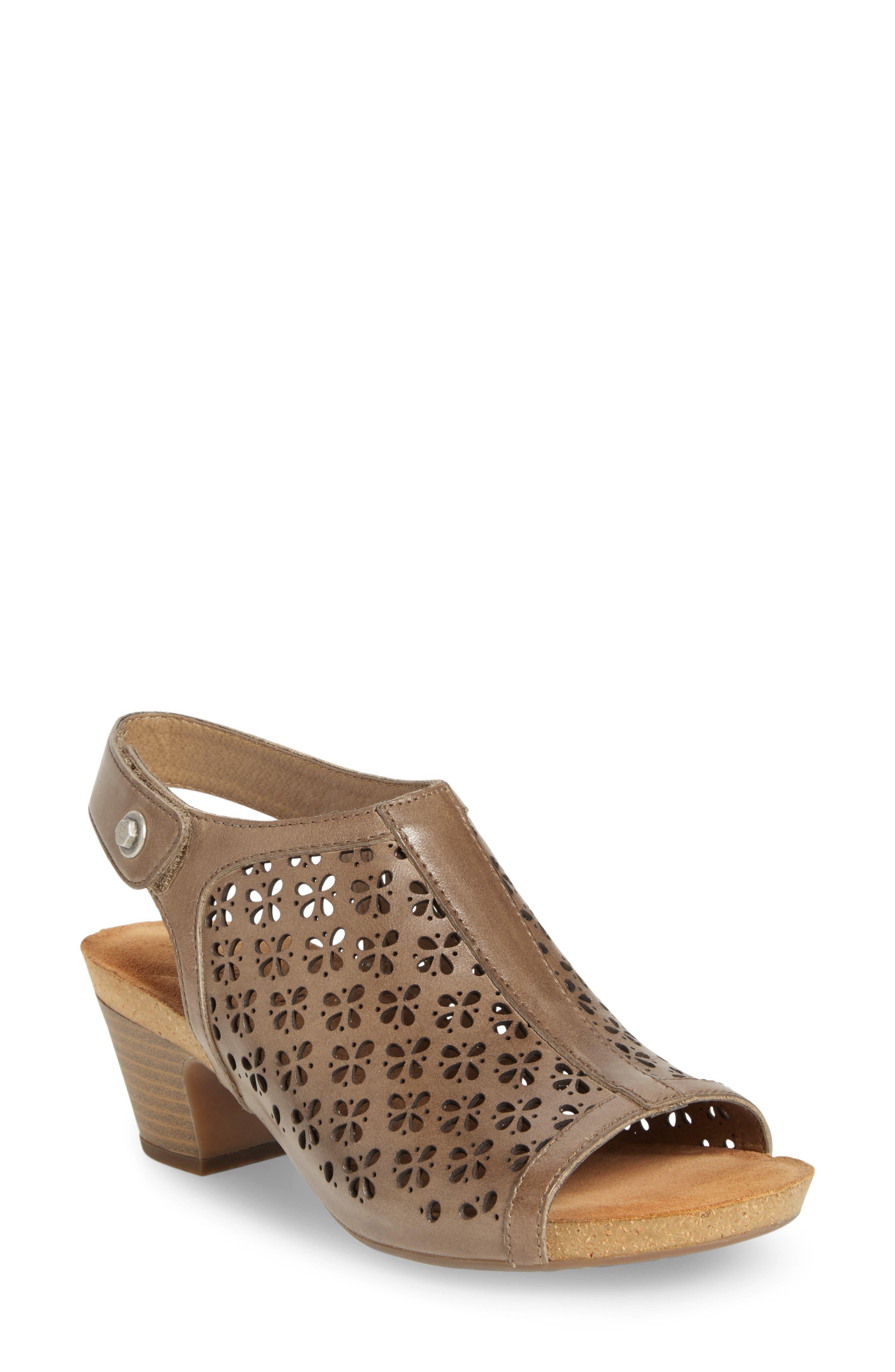 Josef Seibel Ruth 33 Cutout Slingback Sandal (Women)